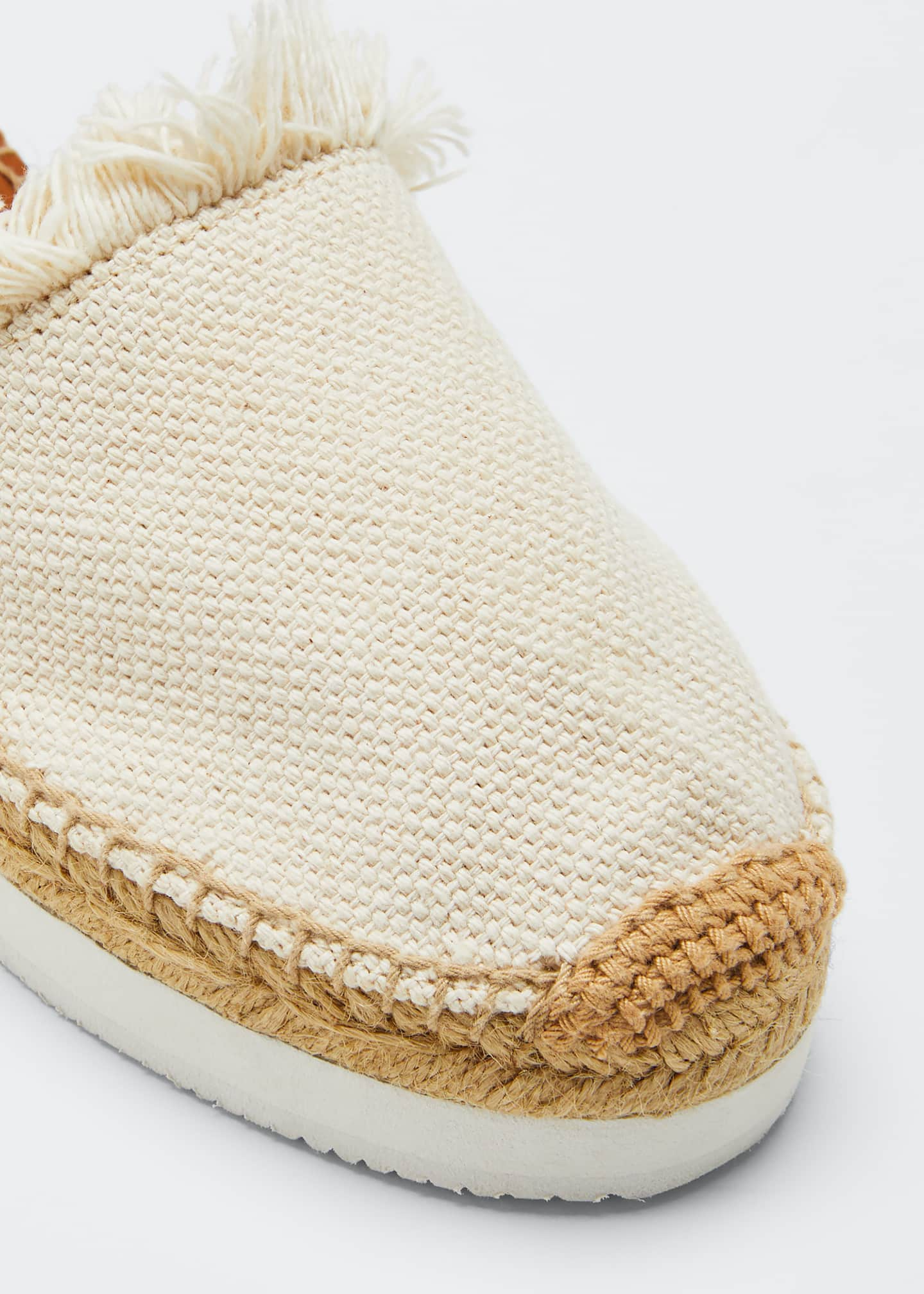 Image 5 of 5: Glyn Canvas & Leather Espadrille