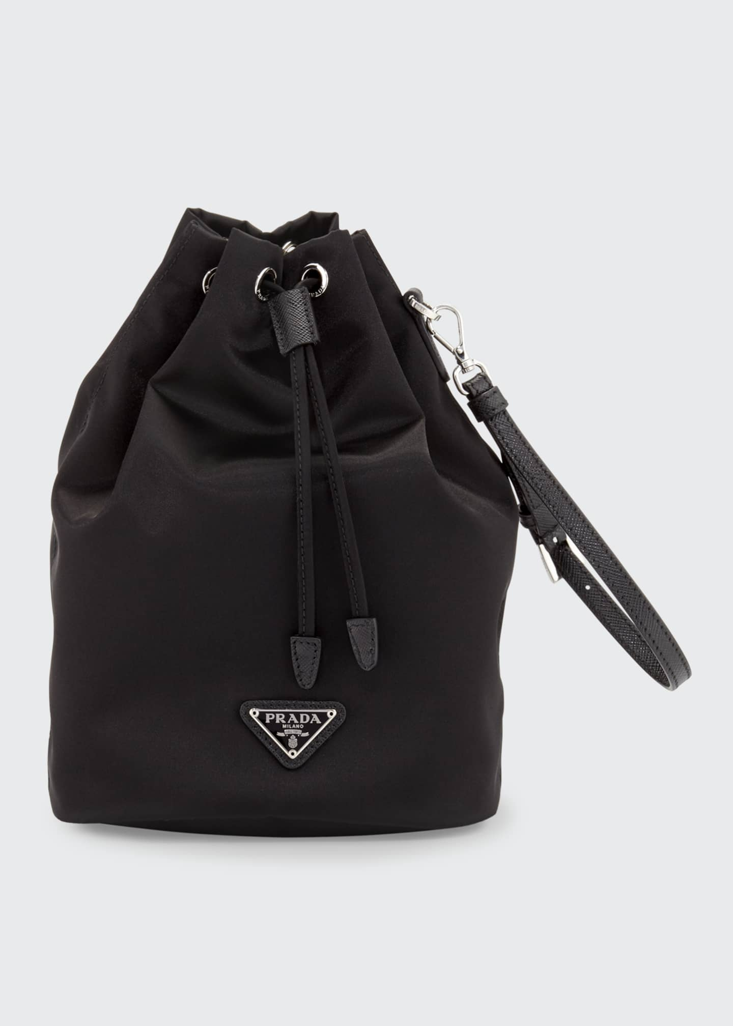 Prada Nylon Bucket Bag