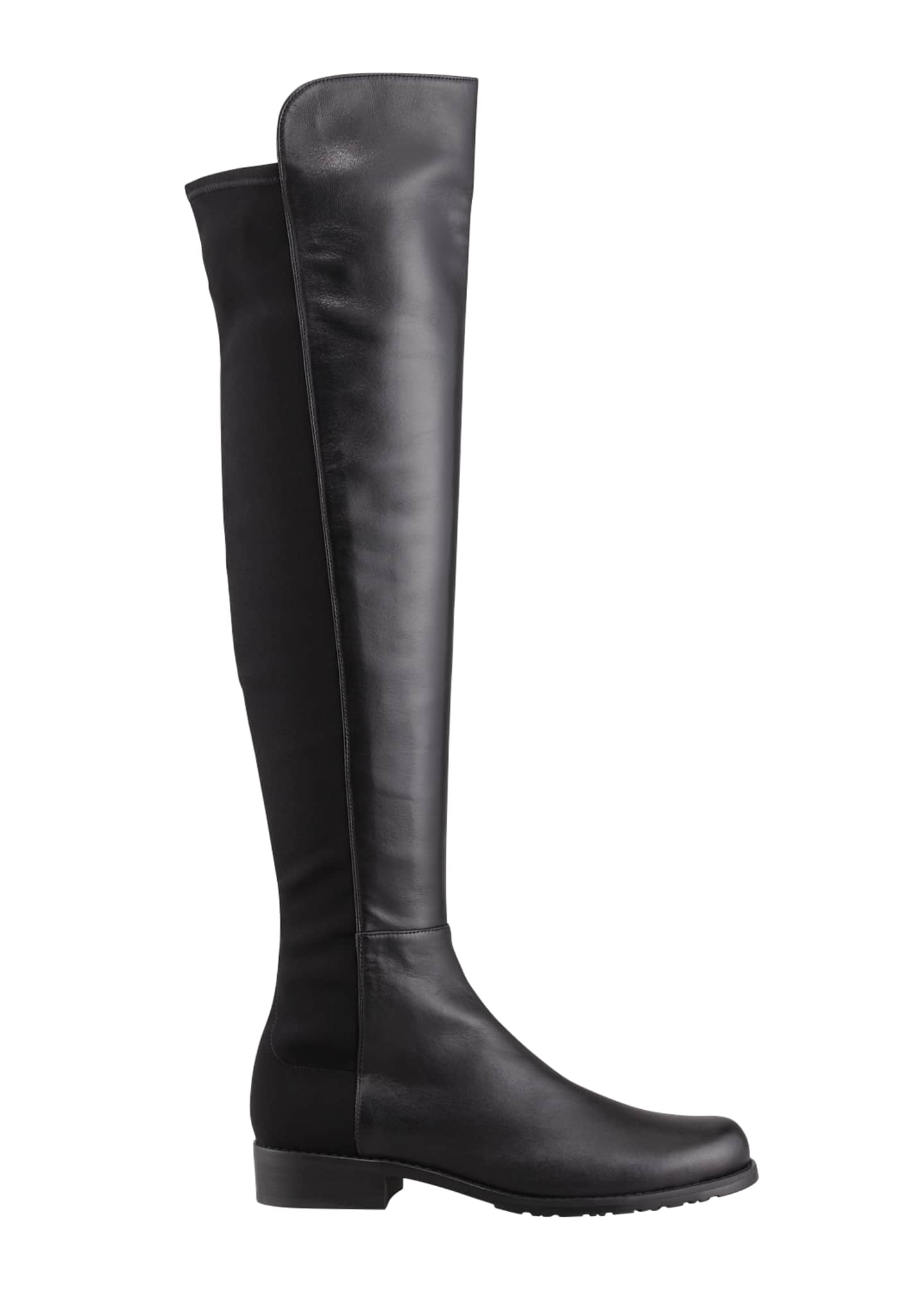 Image 2 of 3: 50/50 Napa Stretch Over-the-Knee Boot, Black