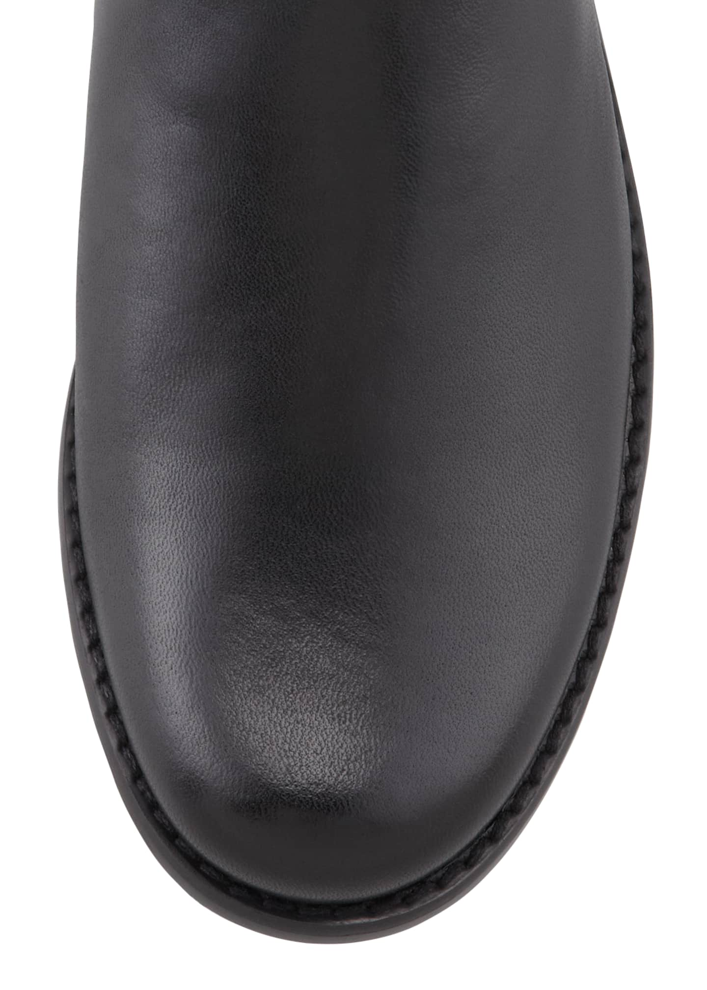 Image 3 of 3: 50/50 Napa Stretch Over-the-Knee Boot, Black