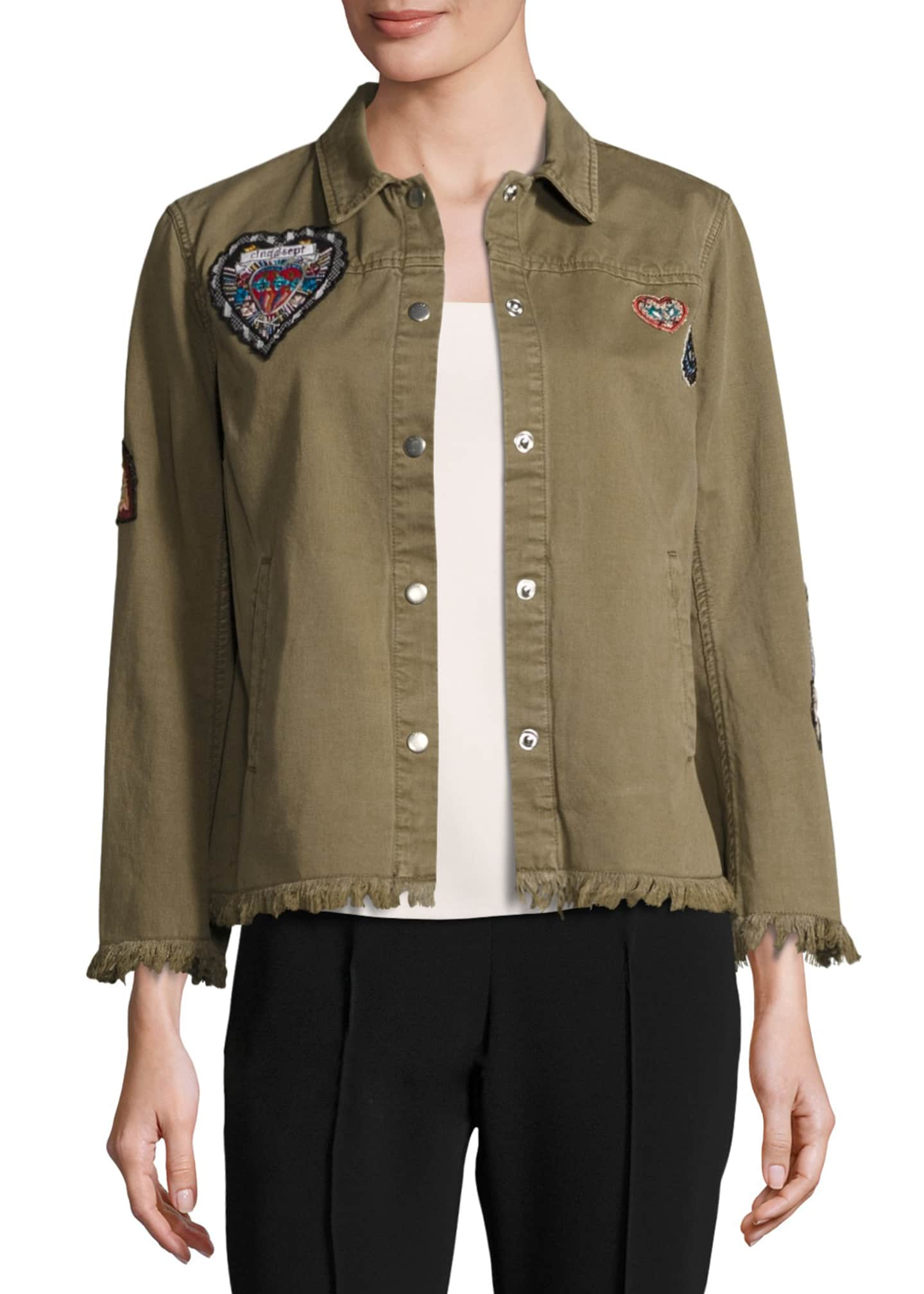 cinq a sept Cedar Denim Shirt Jacket with