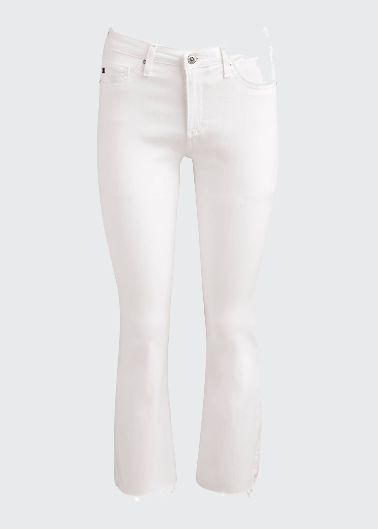 Image 5 of 5: The Jodi Crop Flare-Leg Jeans with Raw Hem