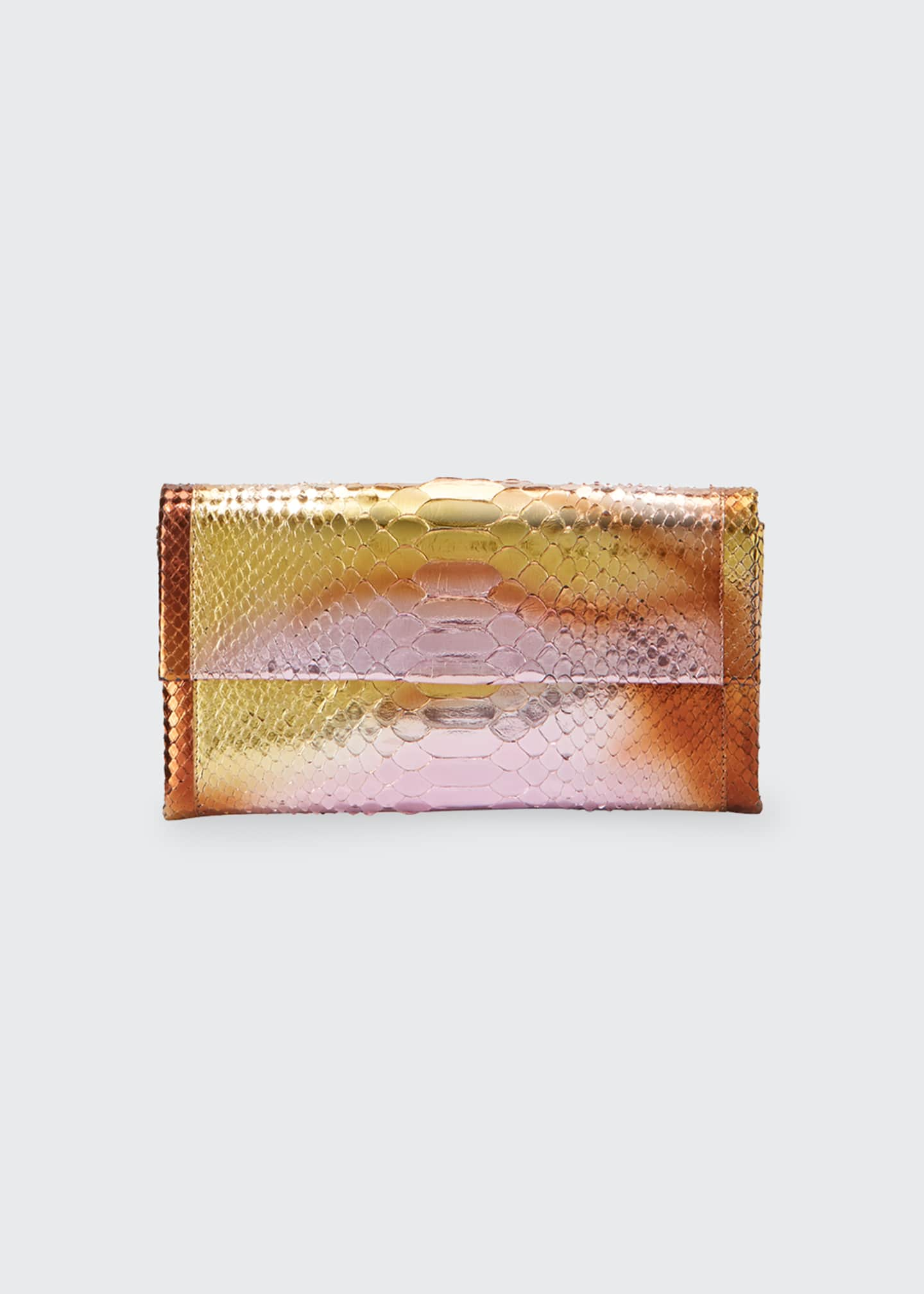 Image 1 of 5: Gotham Python Clutch Bag