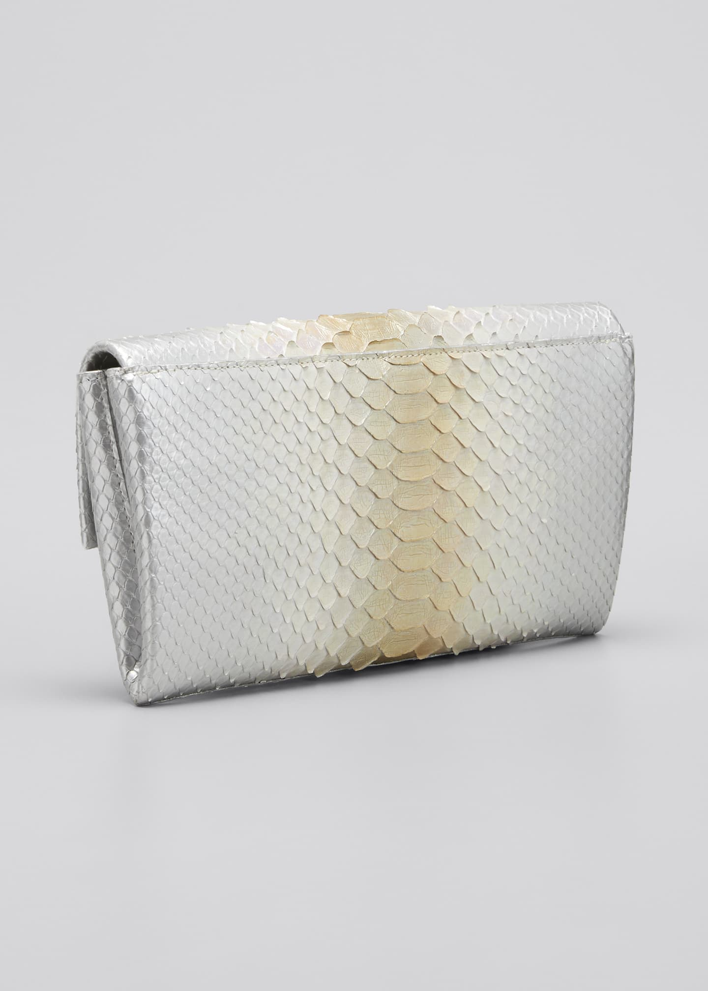 Image 3 of 5: Gotham Python Clutch Bag