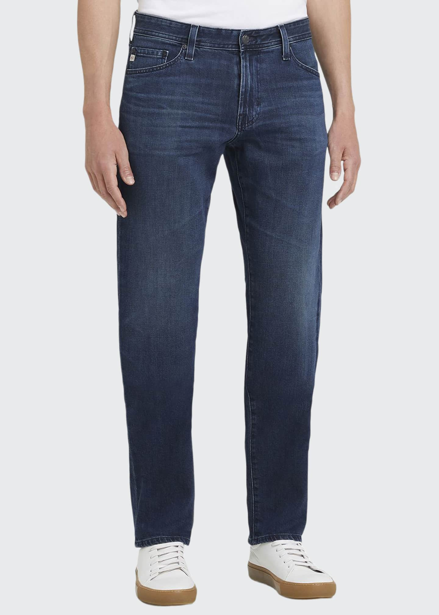 AG Adriano Goldschmied Graduate Das Straight-Leg Jeans