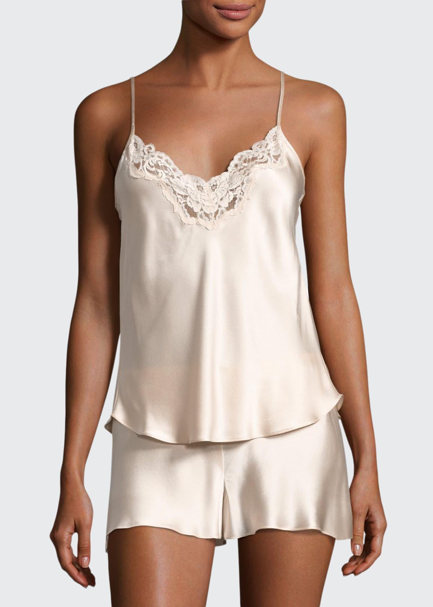 Christine Designs Bijoux Silk Satin Cami & Short