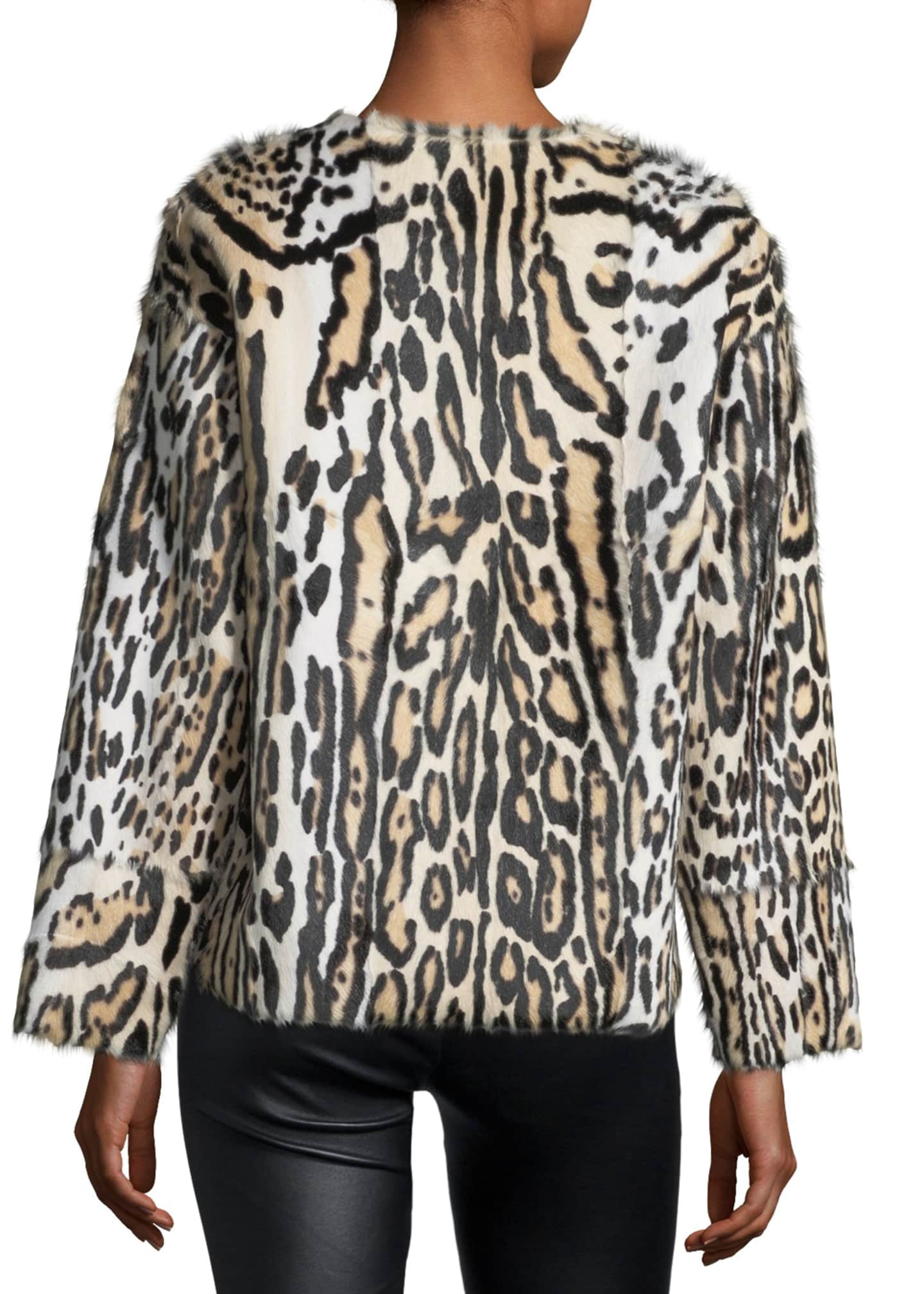 Image 2 of 3: UTZON LEOPARD JACKET