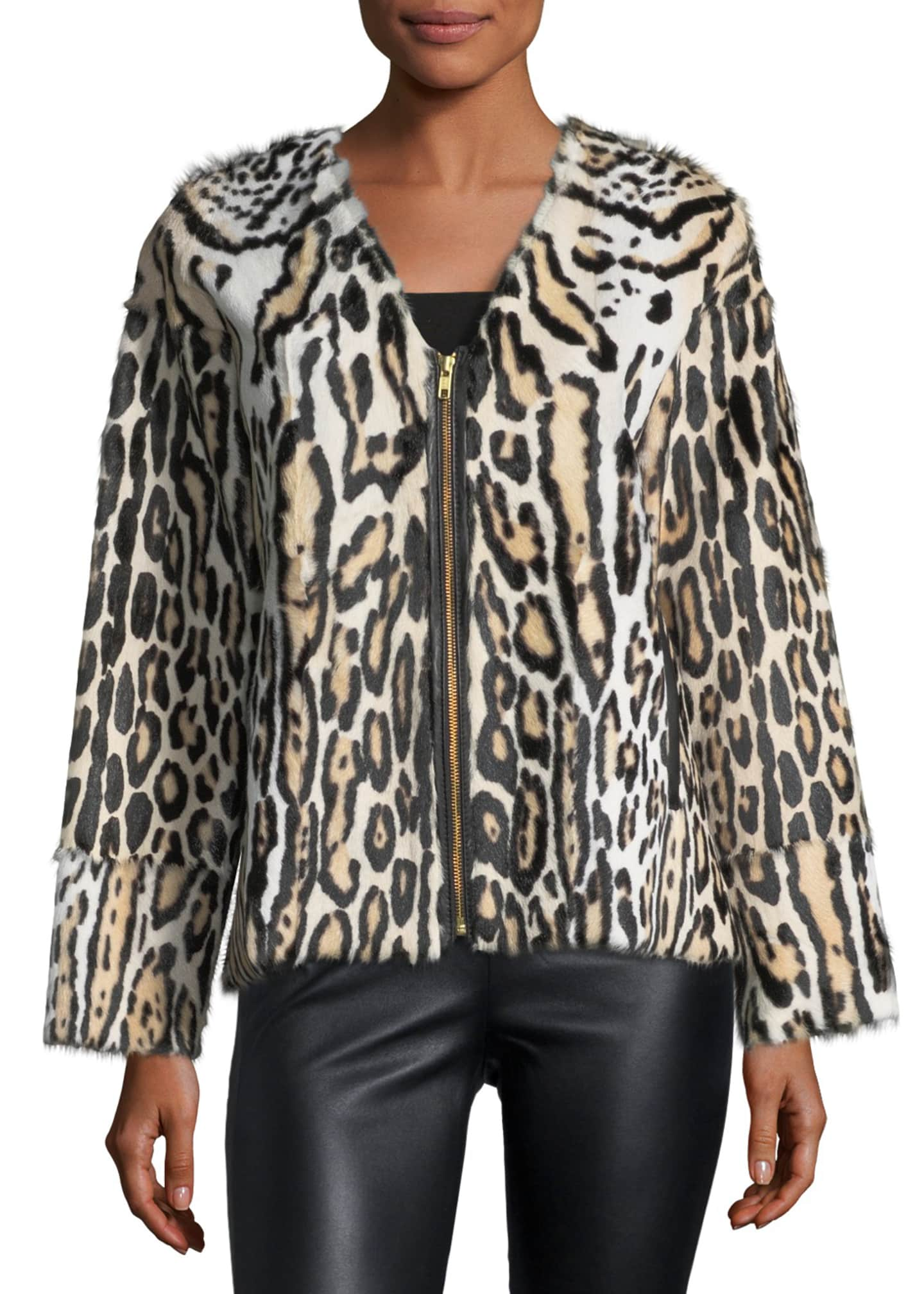Image 3 of 3: UTZON LEOPARD JACKET