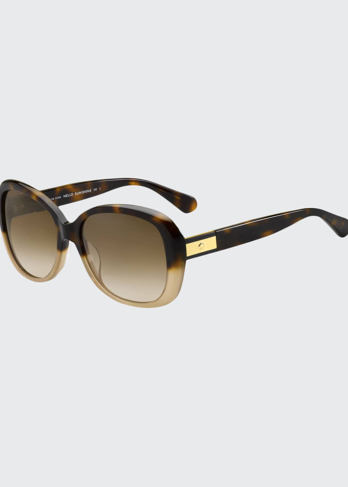 kate spade new york judyann polarized butterfly sunglasses