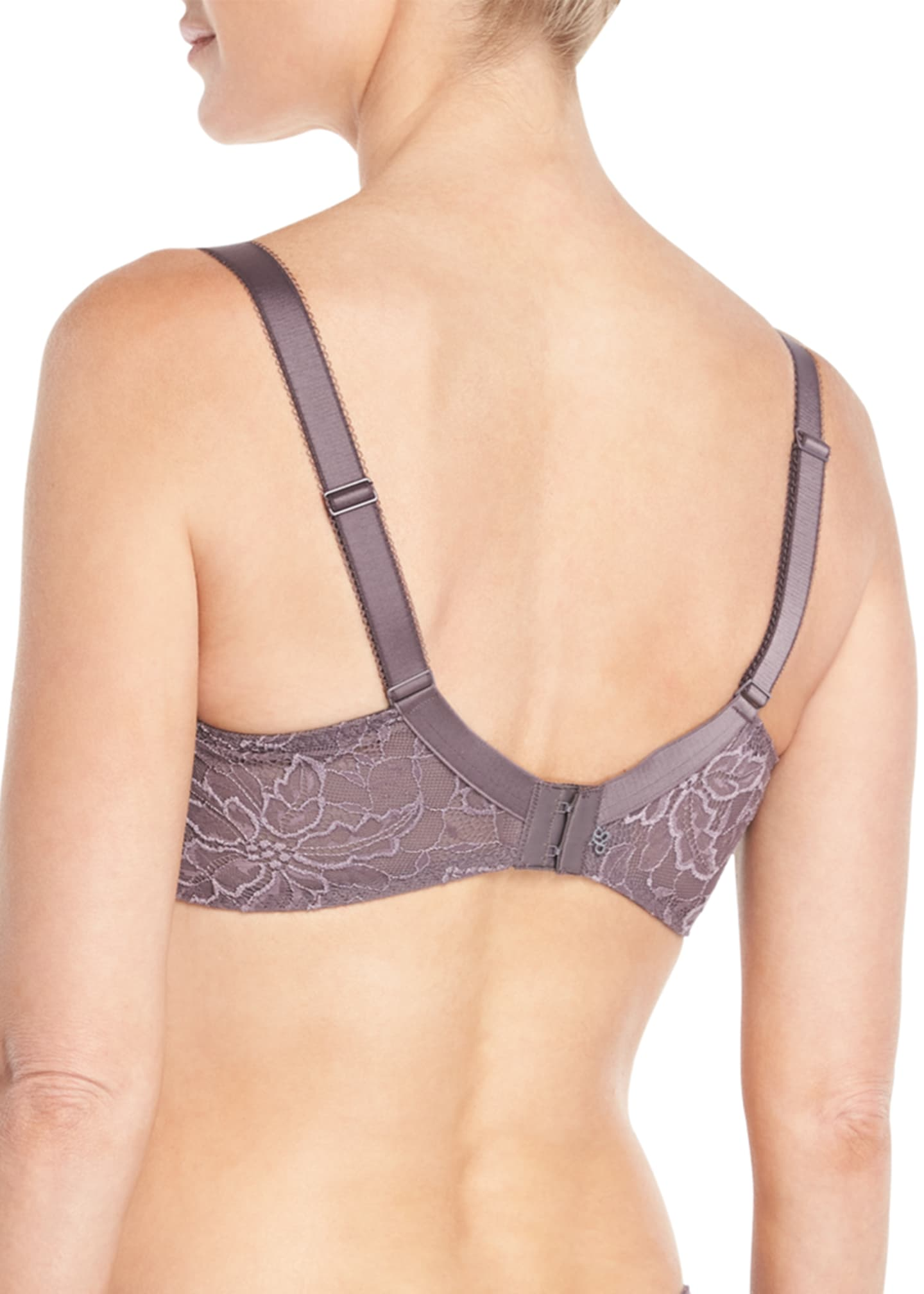 Image 2 of 2: Eden Demi Cup Full-Figure Bra