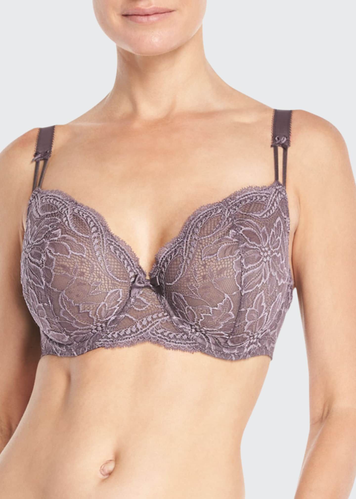 Image 1 of 2: Eden Demi Cup Full-Figure Bra