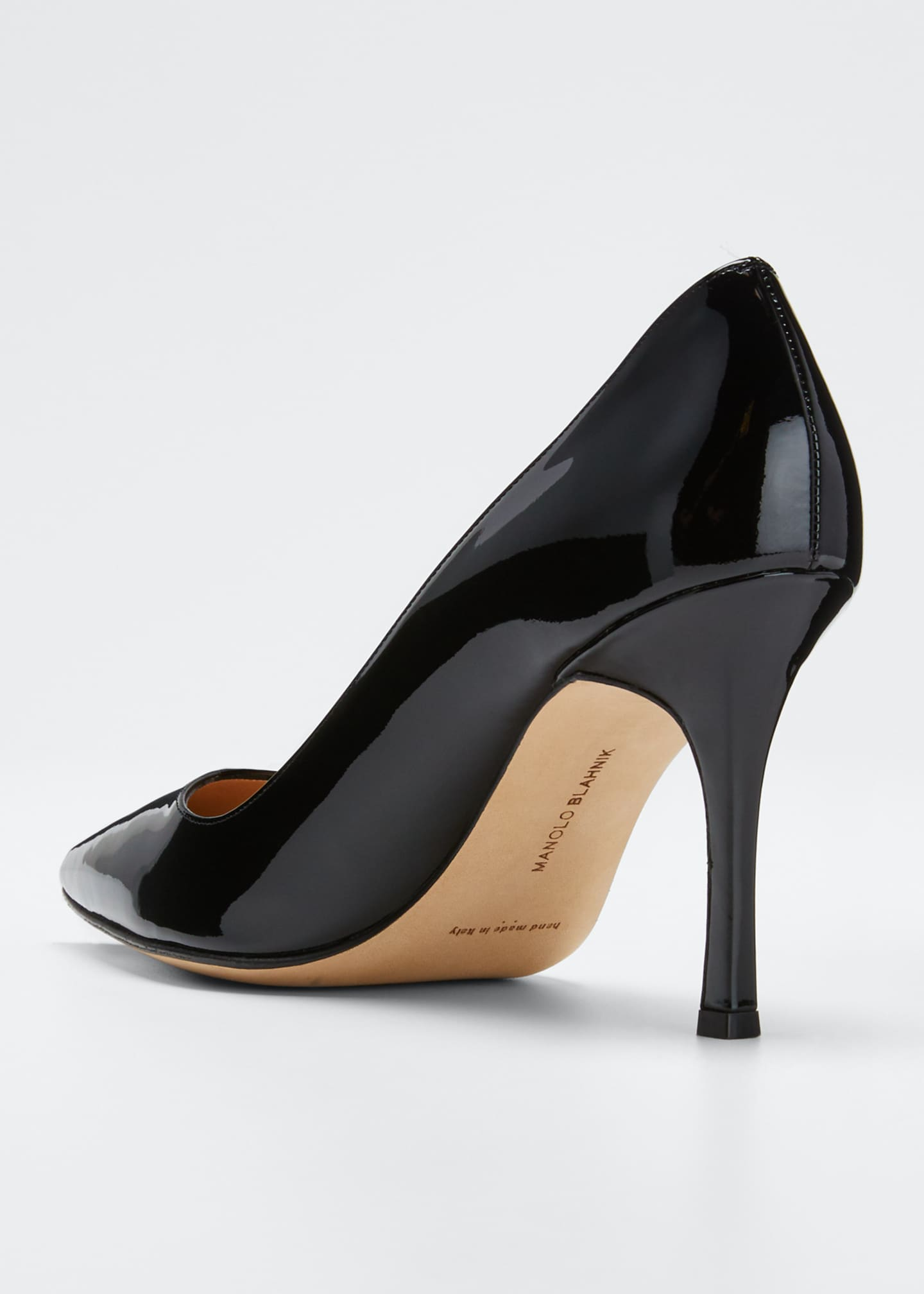 Image 3 of 4: BB 90mm Patent Leather Pumps