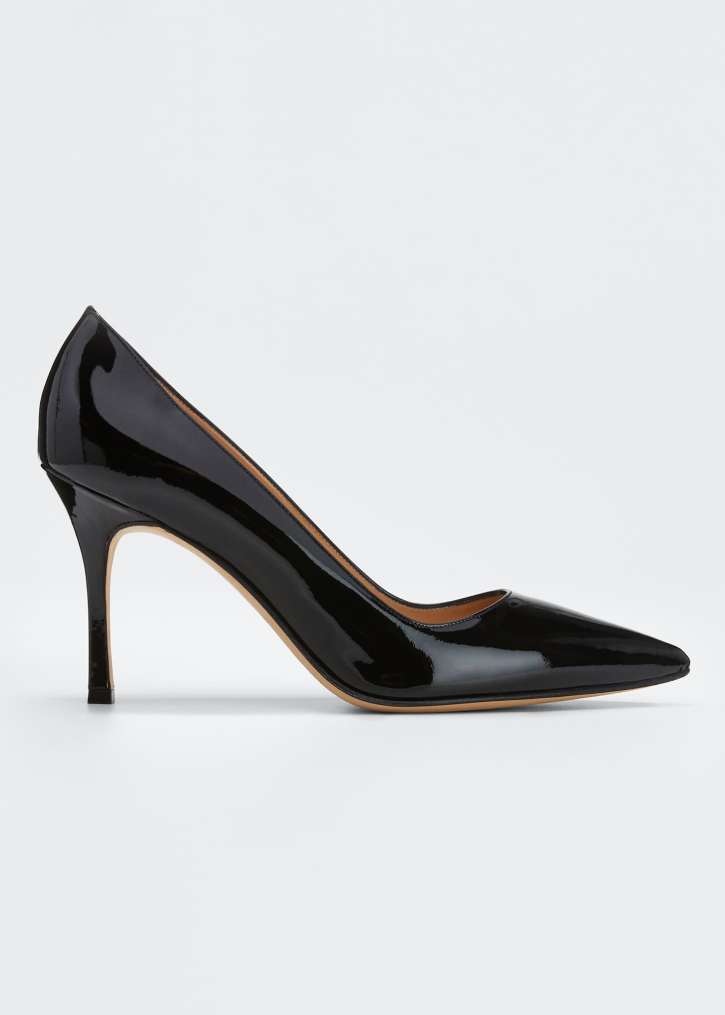 Image 1 of 4: BB 90mm Patent Leather Pumps