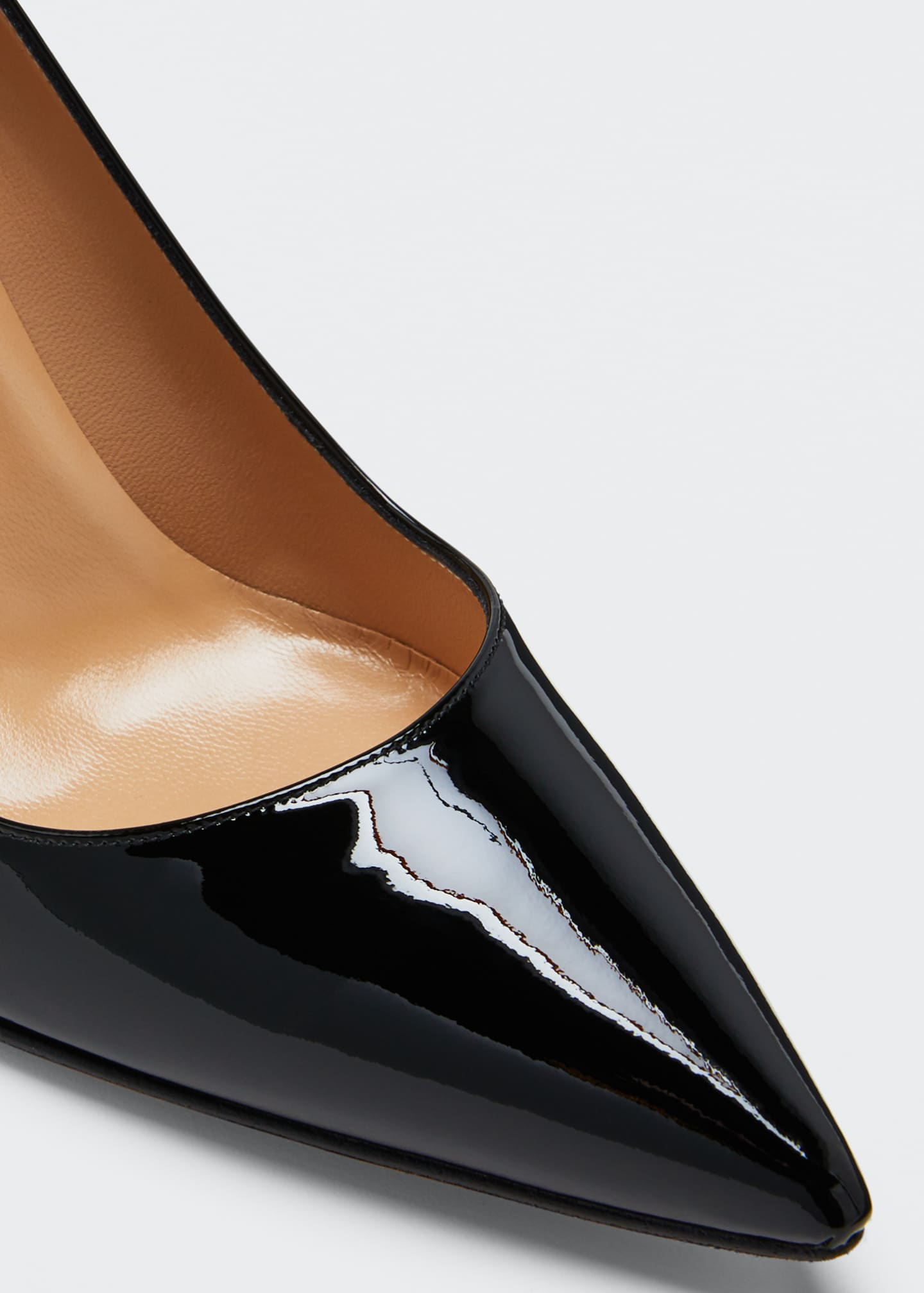 Image 4 of 4: BB 90mm Patent Leather Pumps