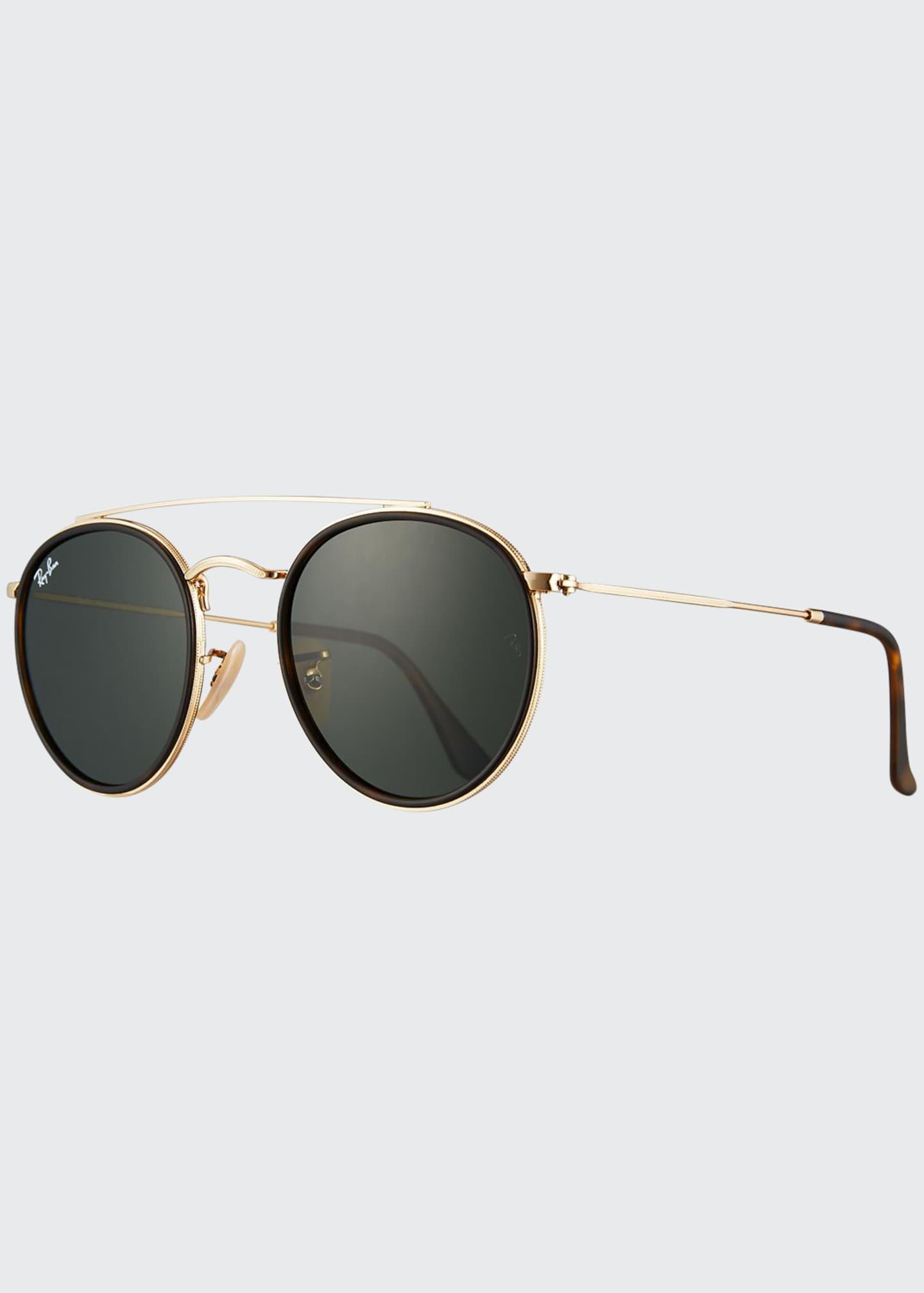 Ray-Ban Round Double-Bridge G-15® Sunglasses