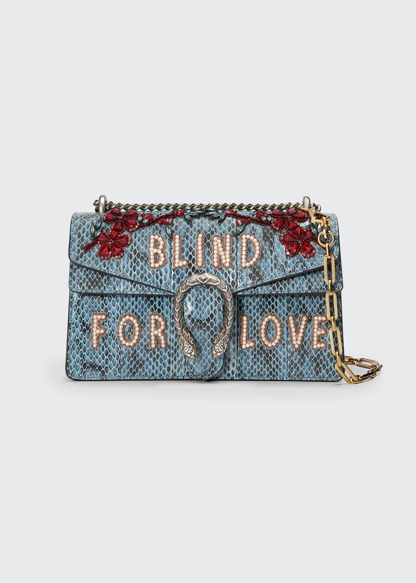 Gucci Dionysus Small Blind For Love Shoulder Bag,