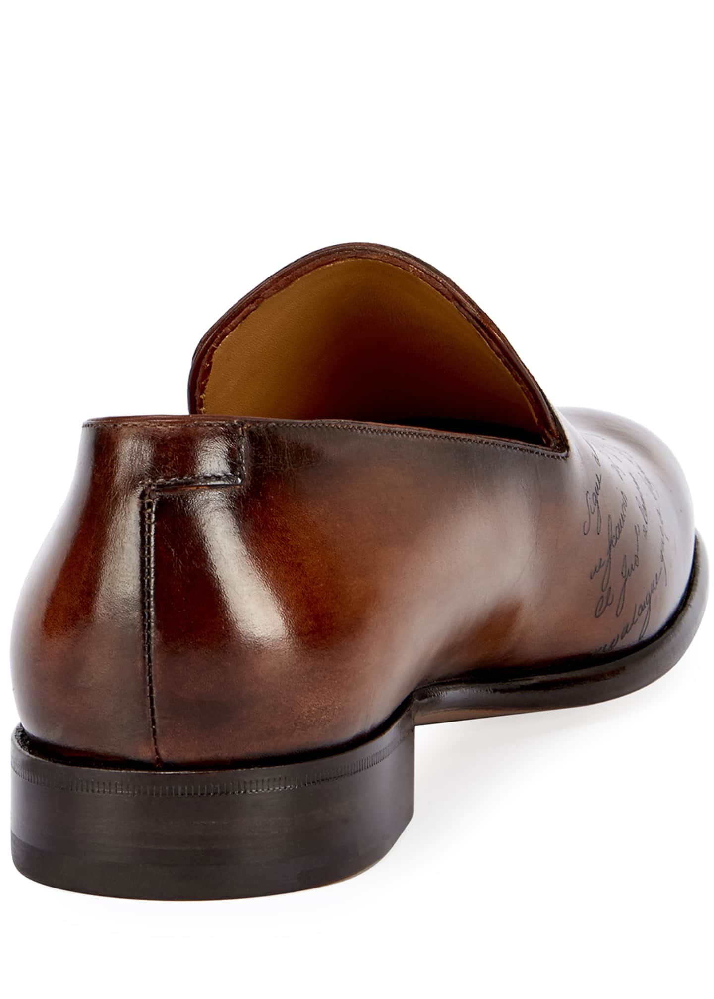 Image 3 of 3: Scritto Leather Slip-On Dress Shoe