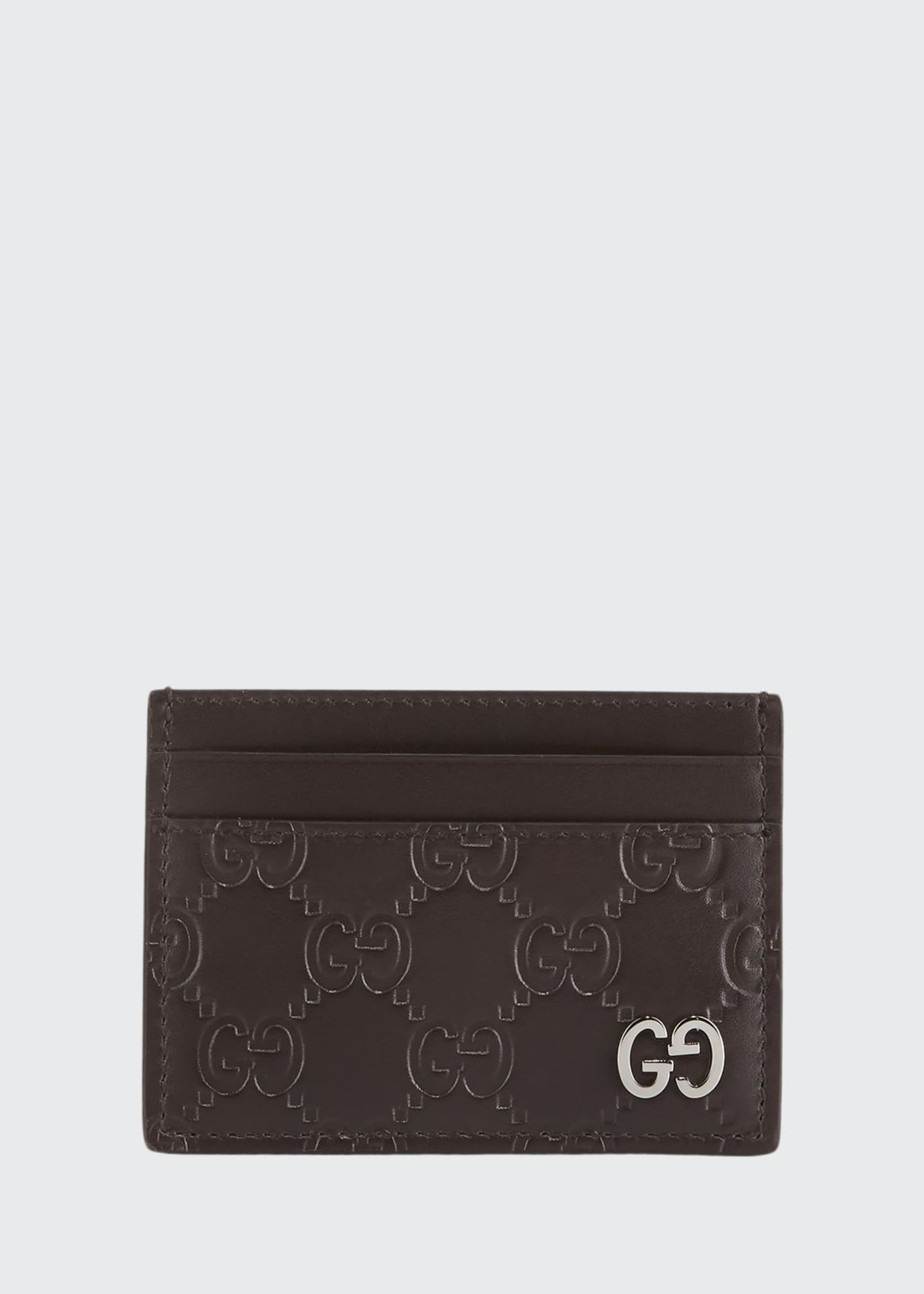 Image 1 of 2: Gucci Signature Card Case
