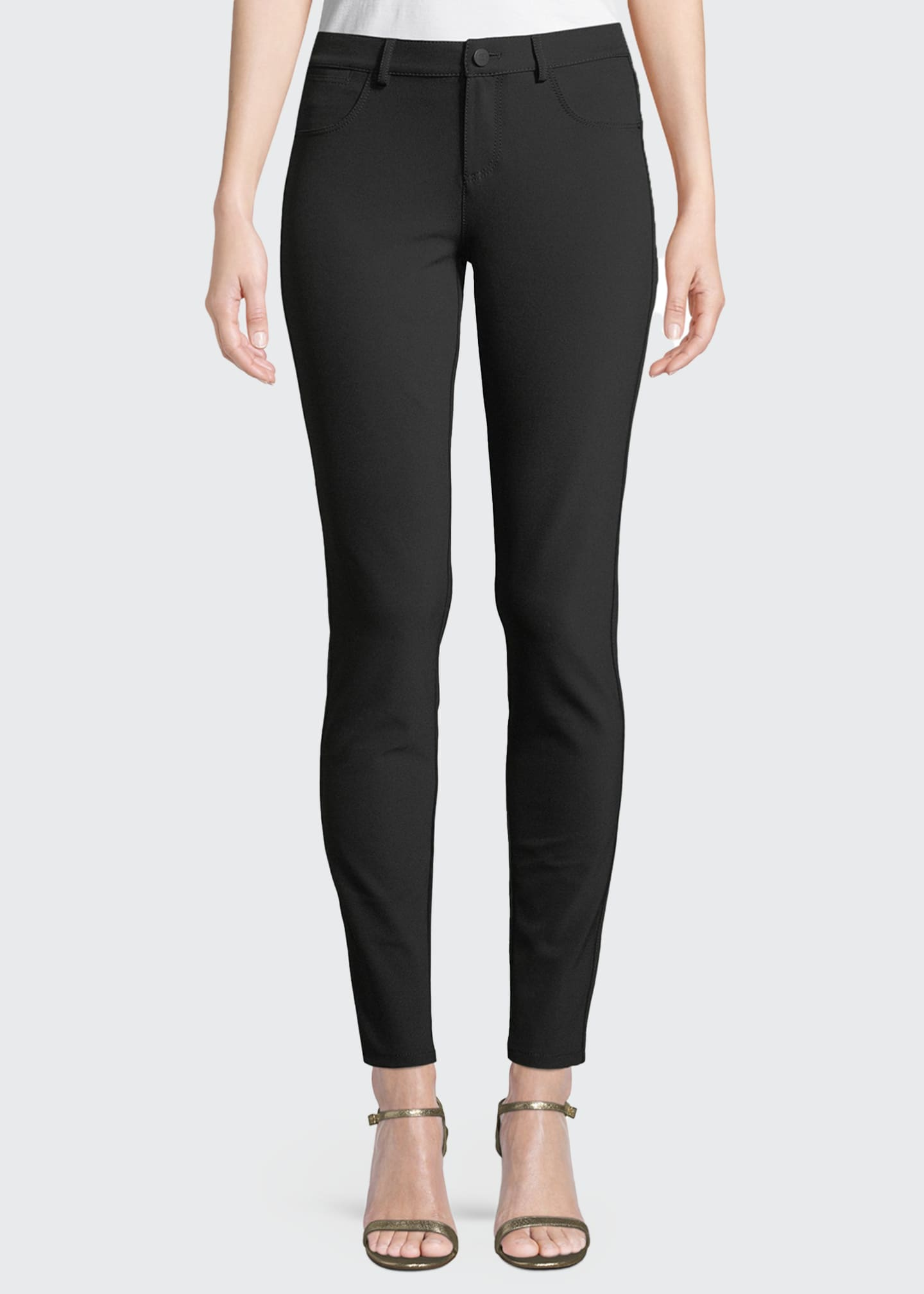 Lafayette 148 New York Mercer Acclaimed Stretch Mid-Rise