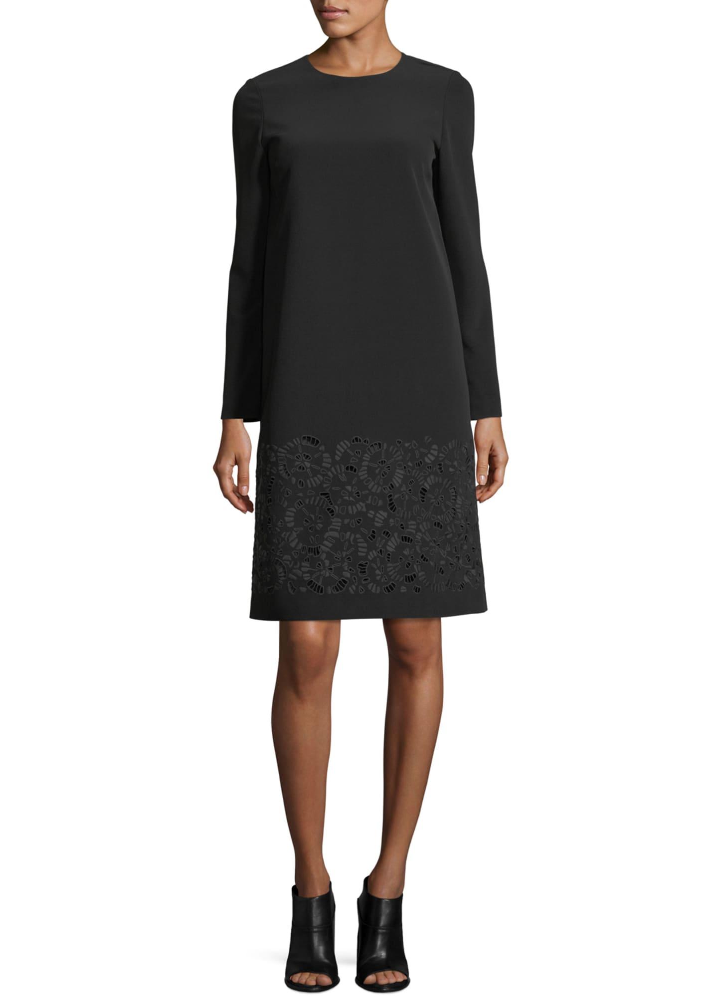 Lafayette 148 New York Corbin Long-Sleeve Emory Cloth