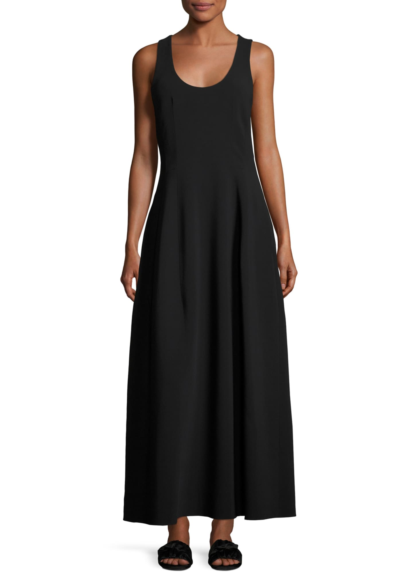 THE ROW Bond Sleeveless Scoop-Neck Maxi Dress