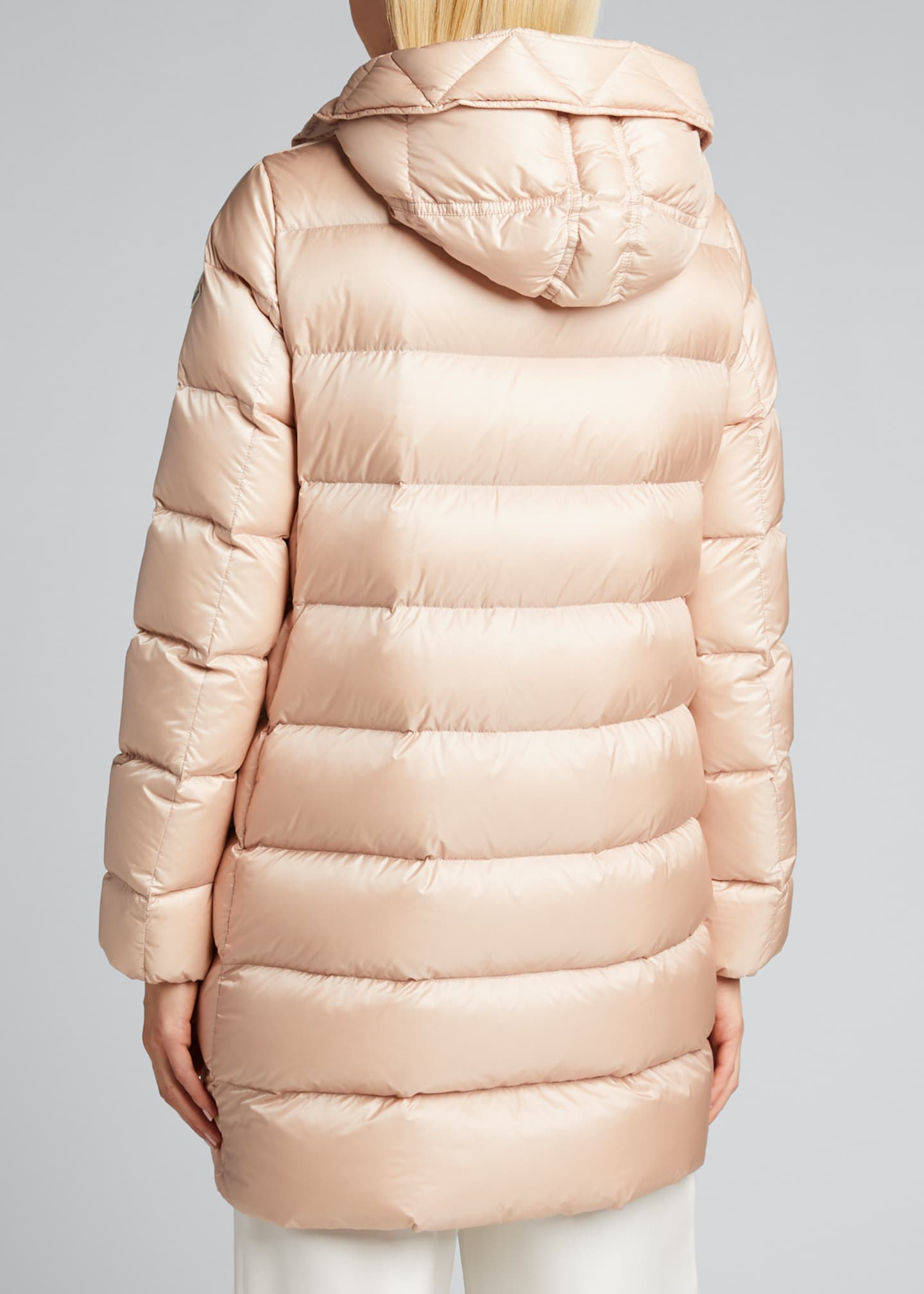 Image 2 of 3: Suyen Down Quilted Nylon Hooded Parka