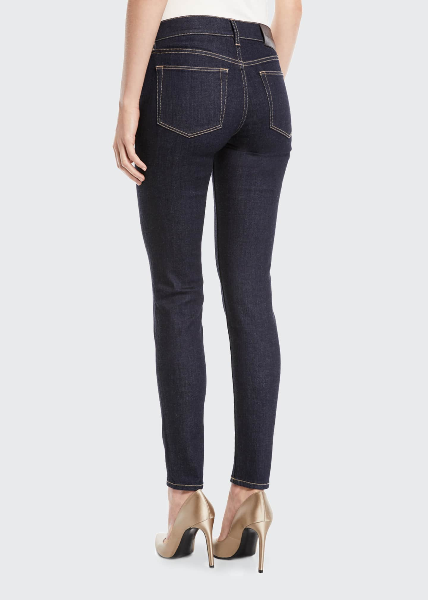 Image 2 of 3: 400 Mid-Rise Five-Pocket Skinny Jeans