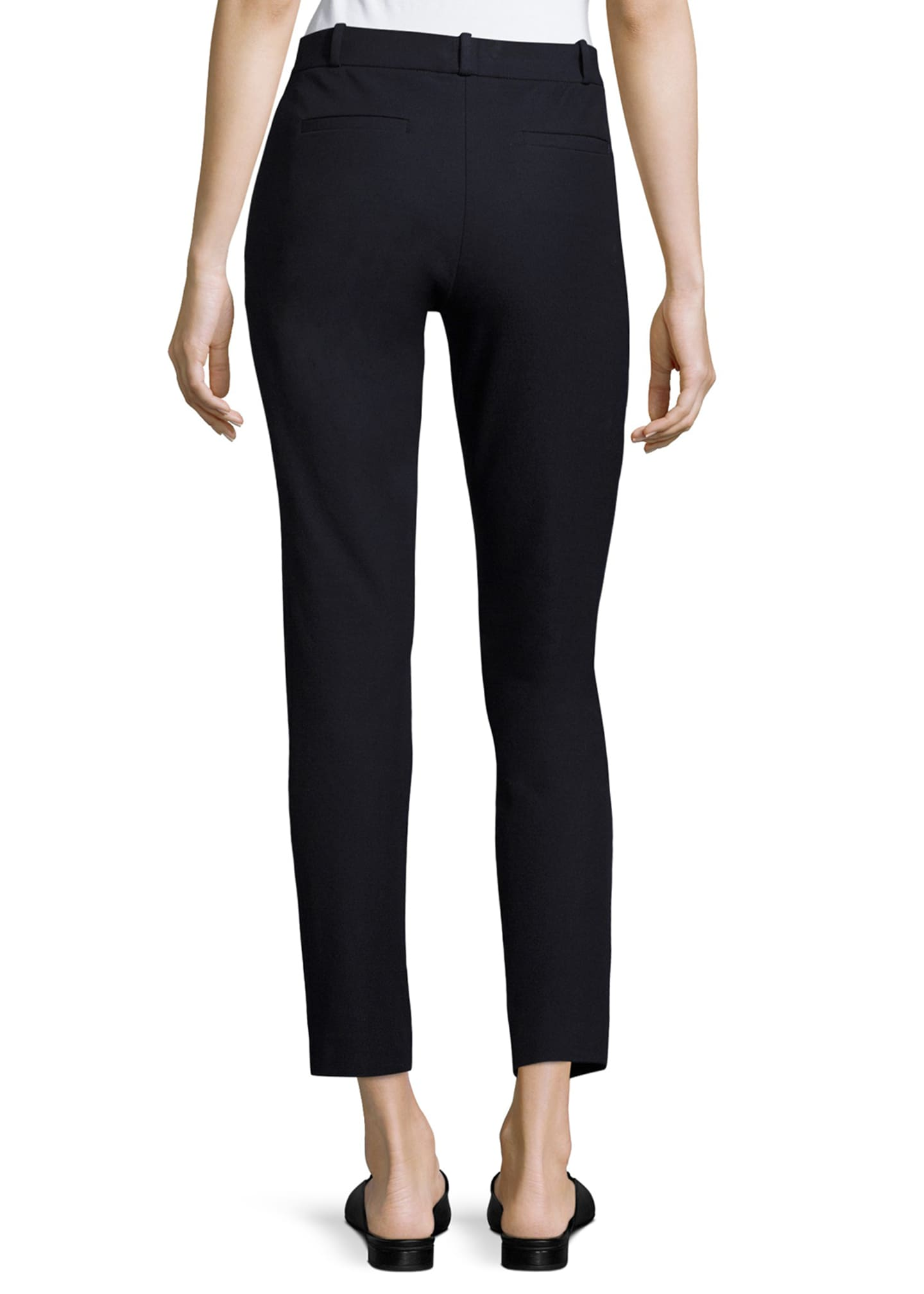 Image 2 of 2: New Elliston Stretch-Gabardine Skinny Ankle Pants