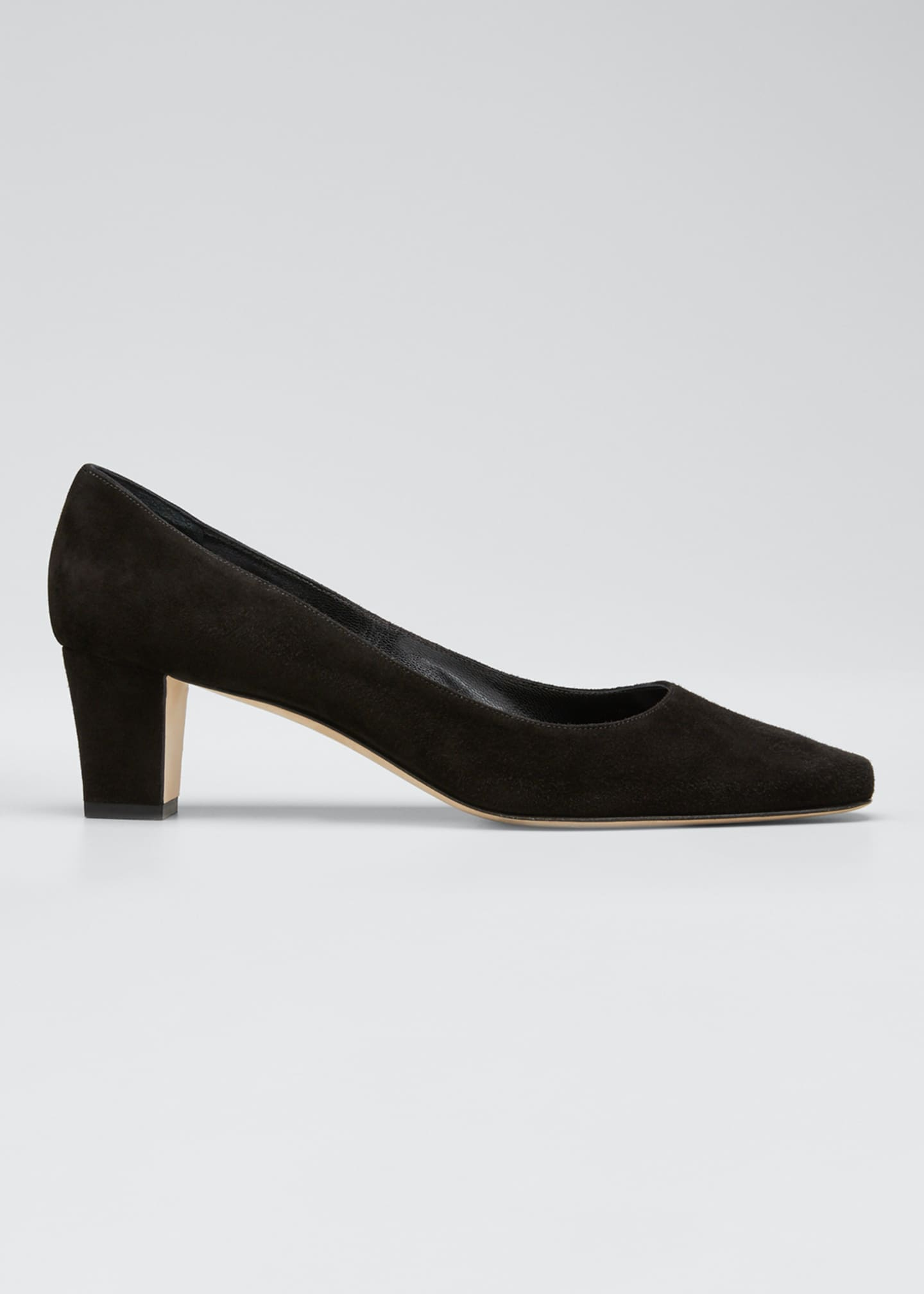 Image 1 of 5: Okkatopla Suede Block-Heel Pump