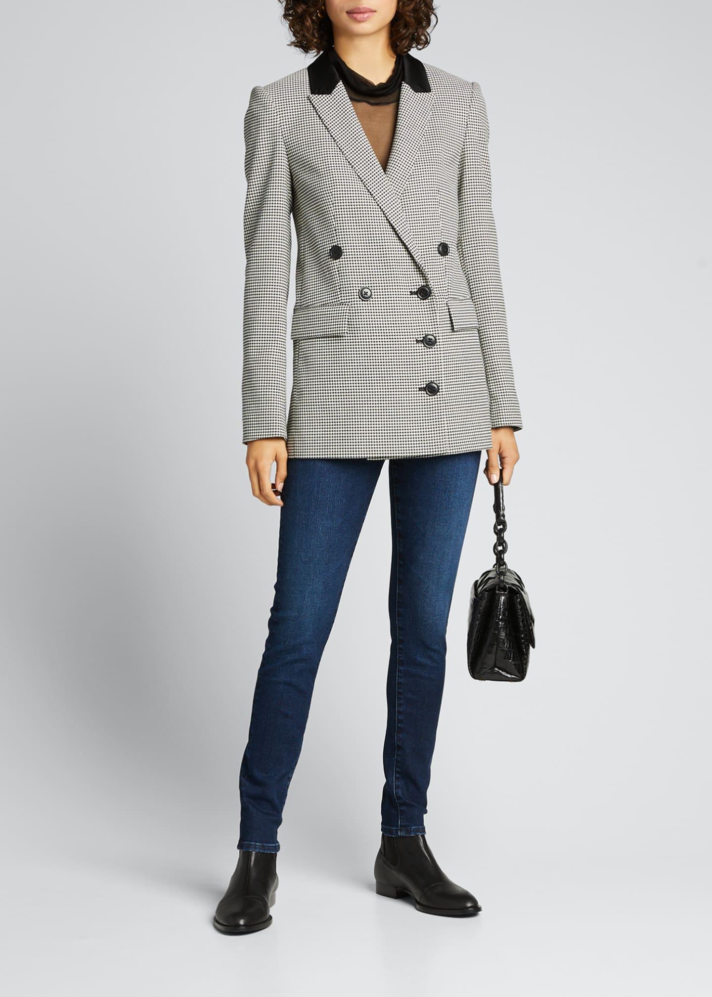 AG Farrah High-Rise Skinny Ankle Jeans