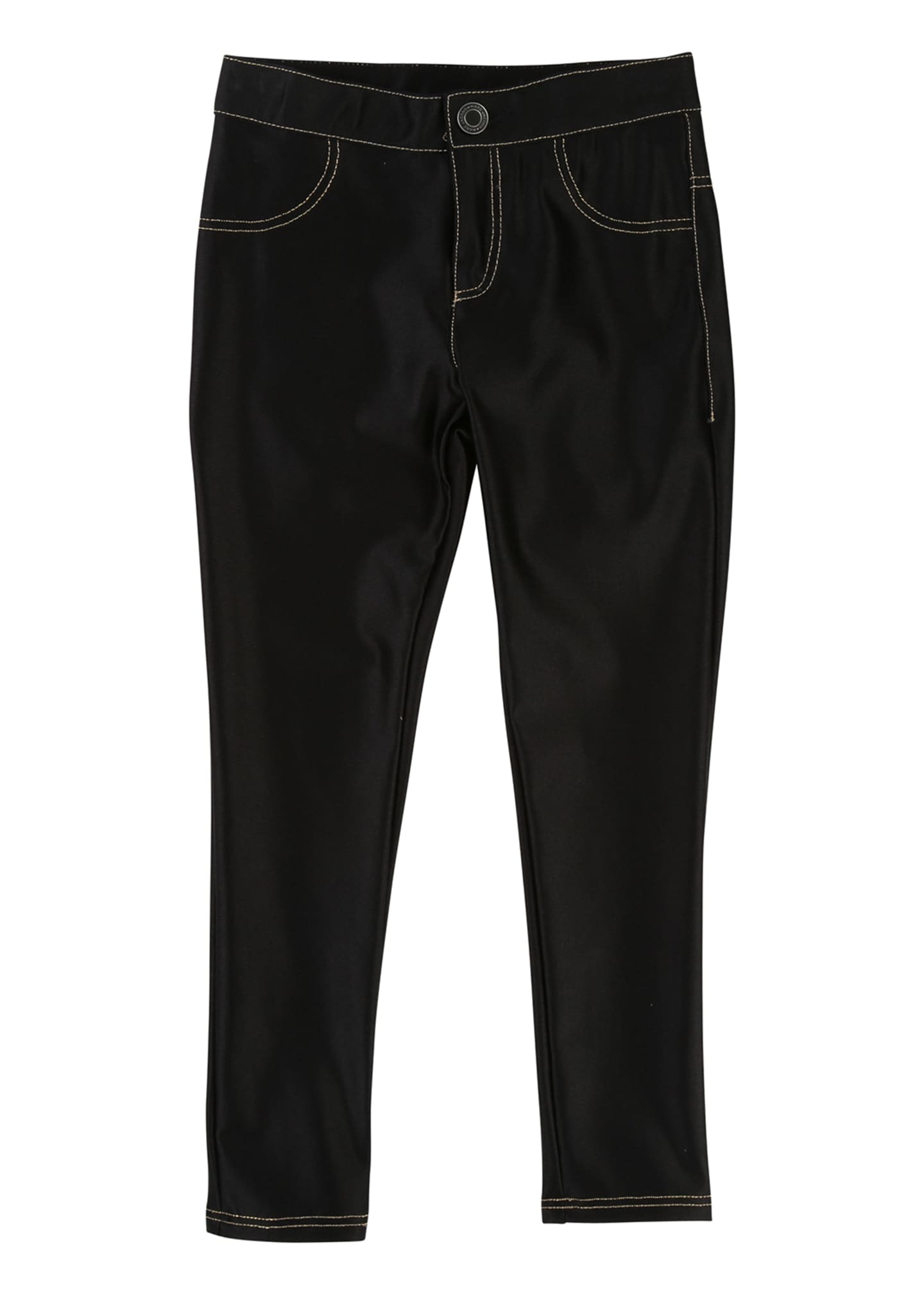 Little Marc Jacobs Satiny Stretch Trousers, Size 6-10