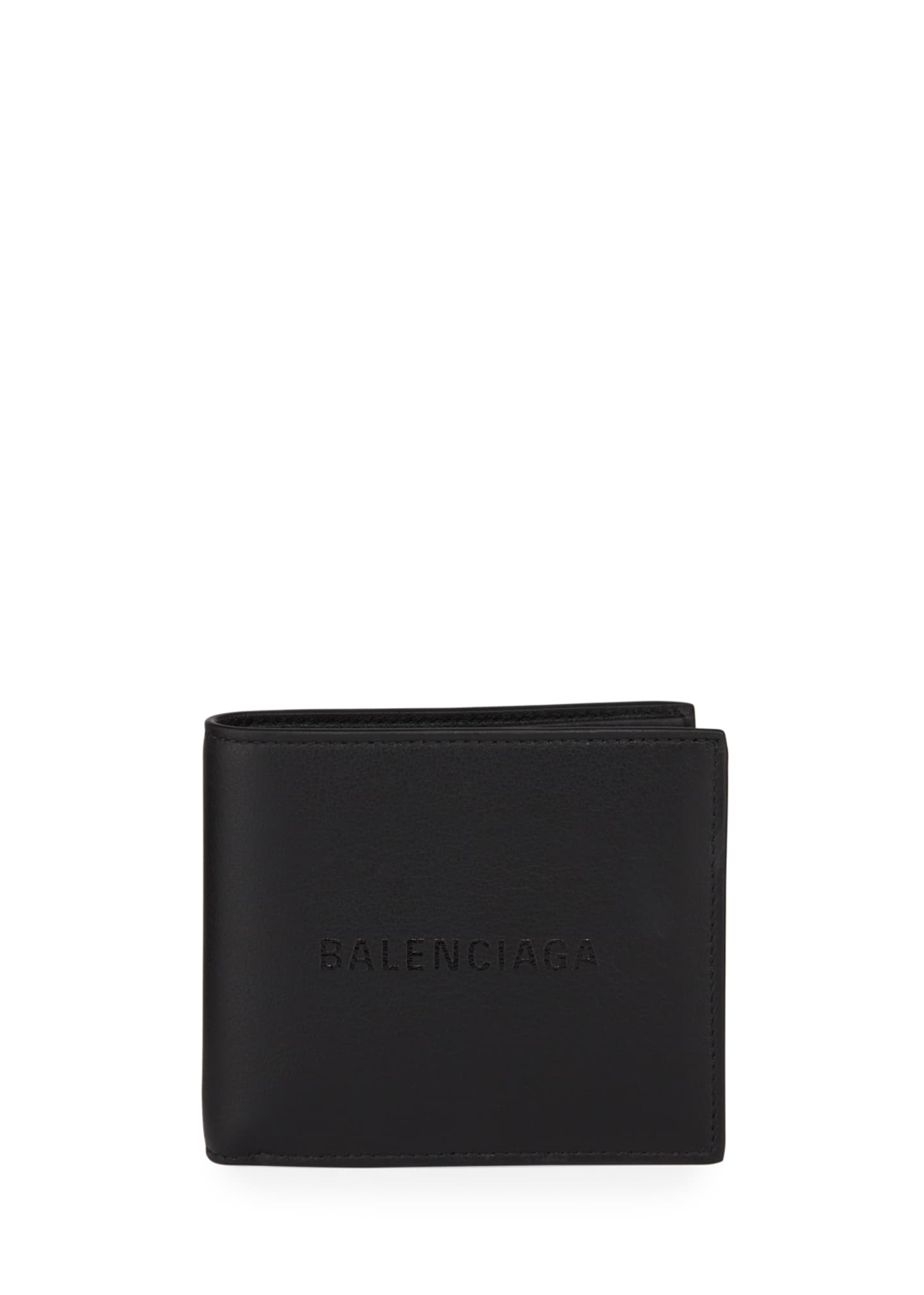 Balenciaga Men's Baltimore Shopping Square Leather Wallet