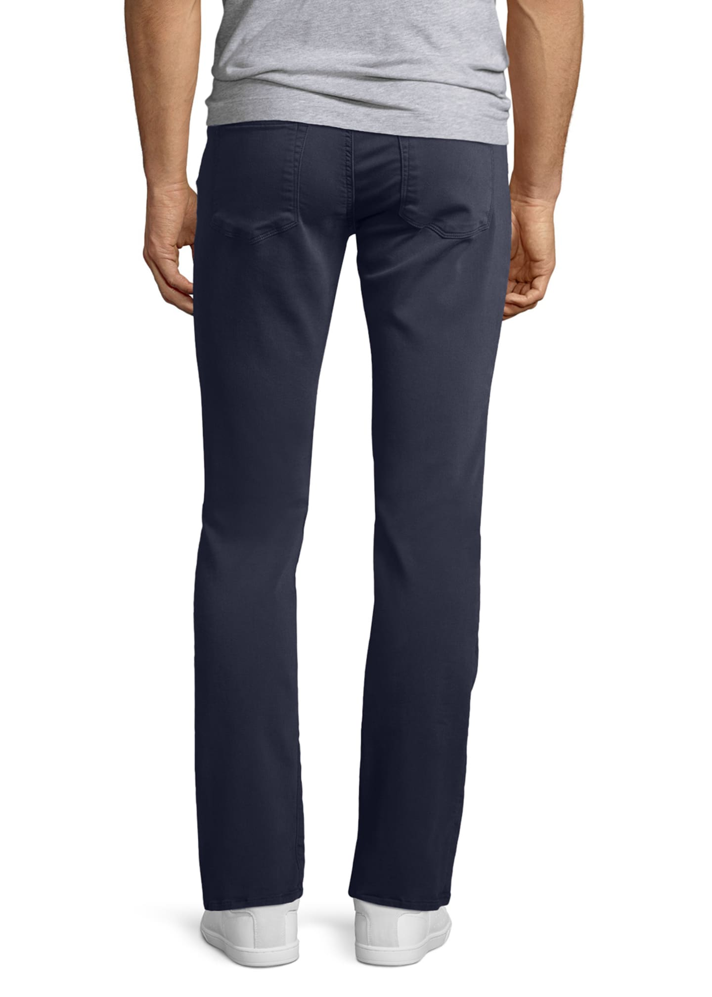Image 2 of 4: Kane Slim-Fit Luxe Terry Jeans