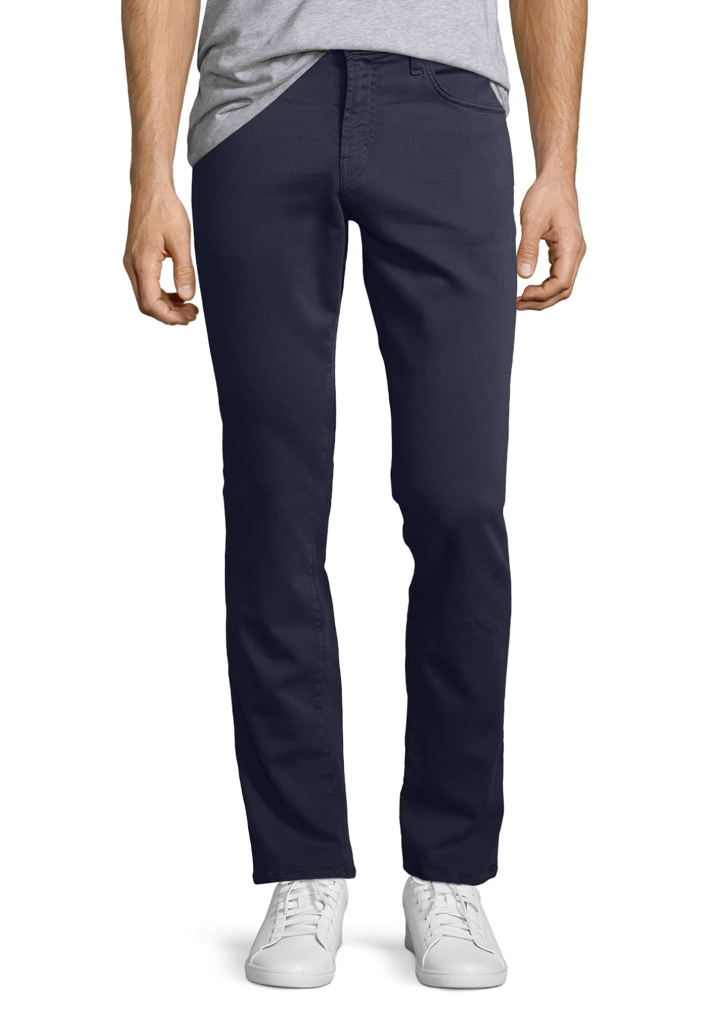 Image 1 of 4: Kane Slim-Fit Luxe Terry Jeans