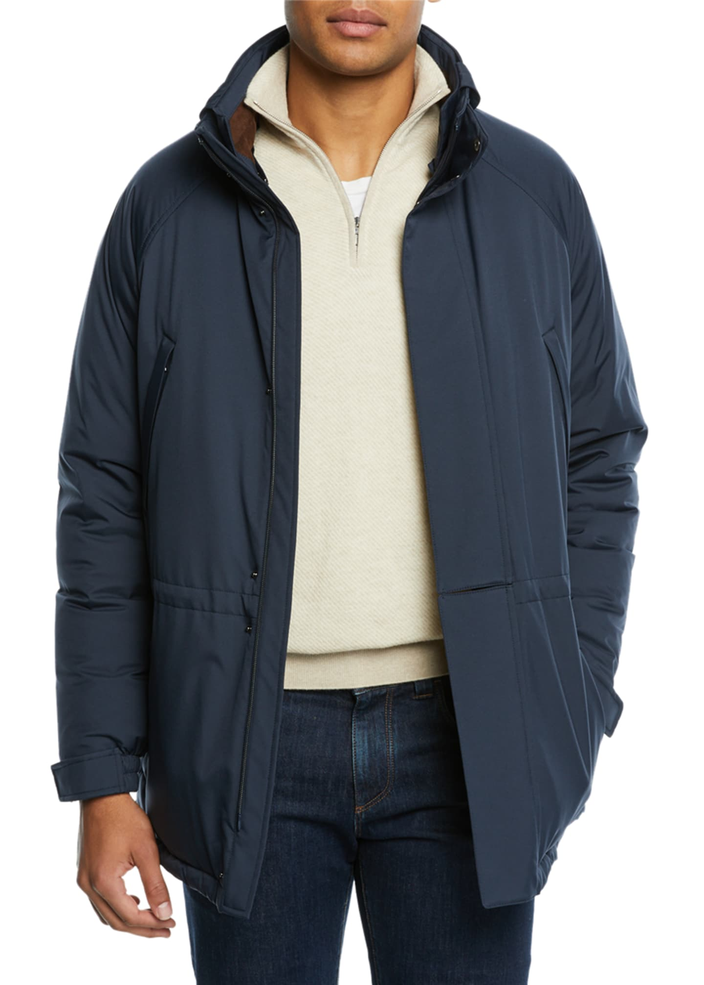 Loro Piana Men's Icer Wind Stretch Coat