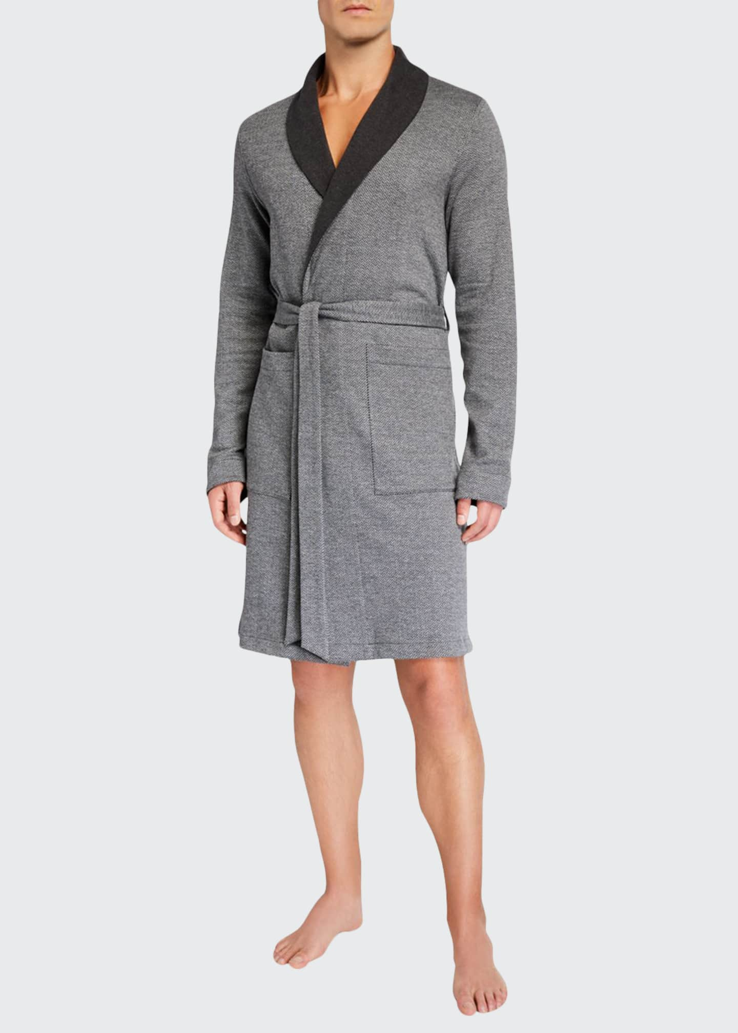 Hanro Cotton/Wool Interlock Robe
