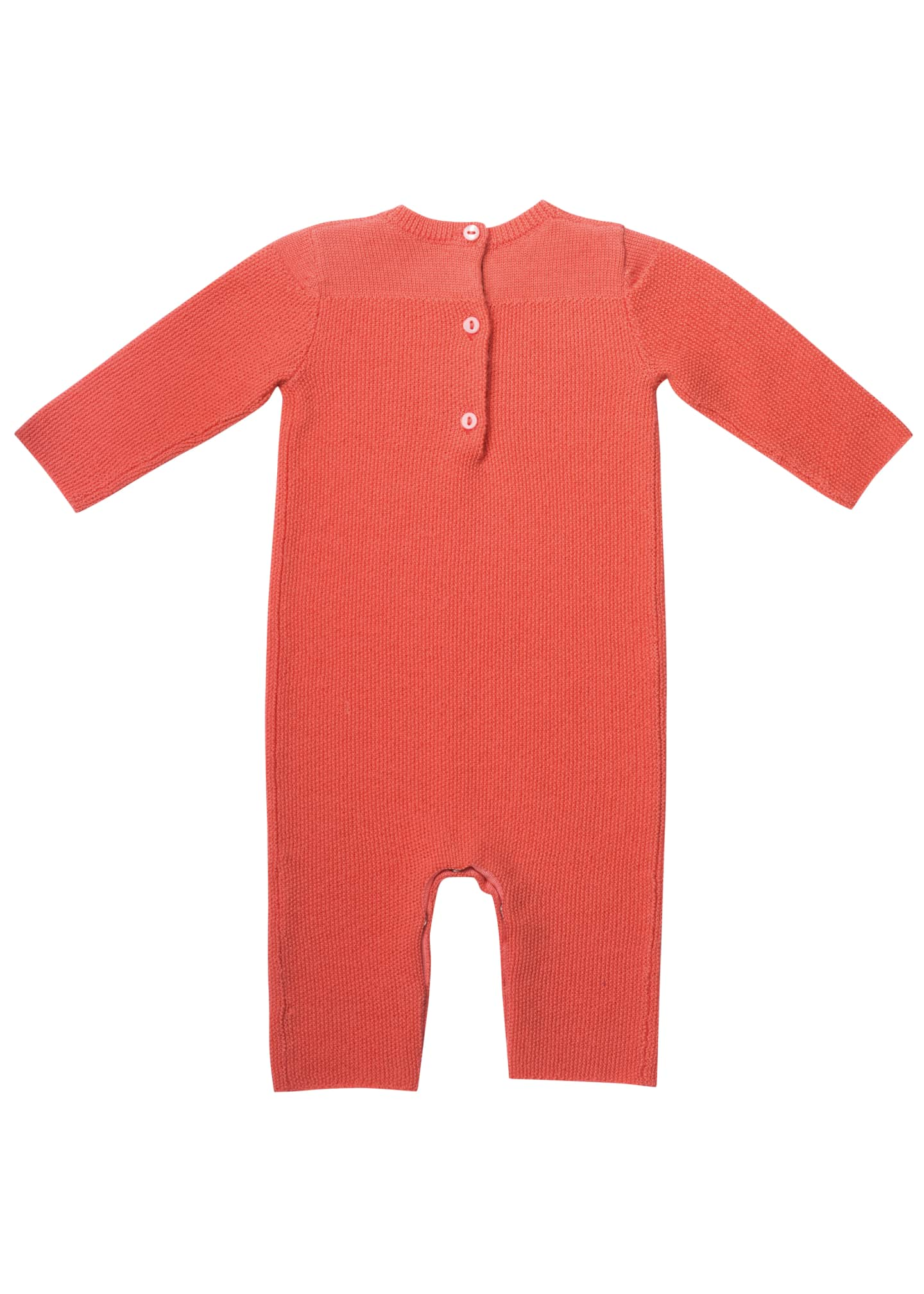 Image 2 of 2: Knit Cotton Coverall, Size 1-12 Months