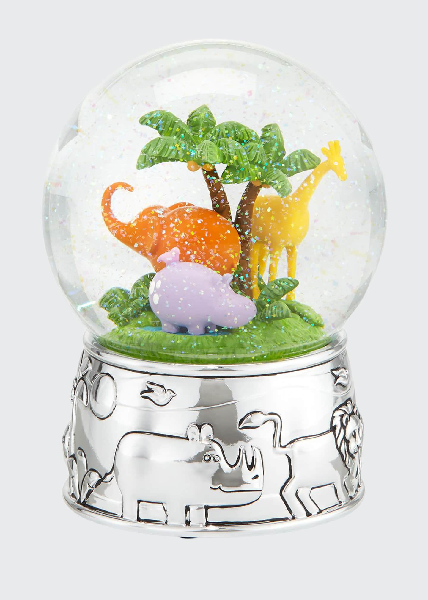 Image 1 of 1: Jungle Parade Water Globe