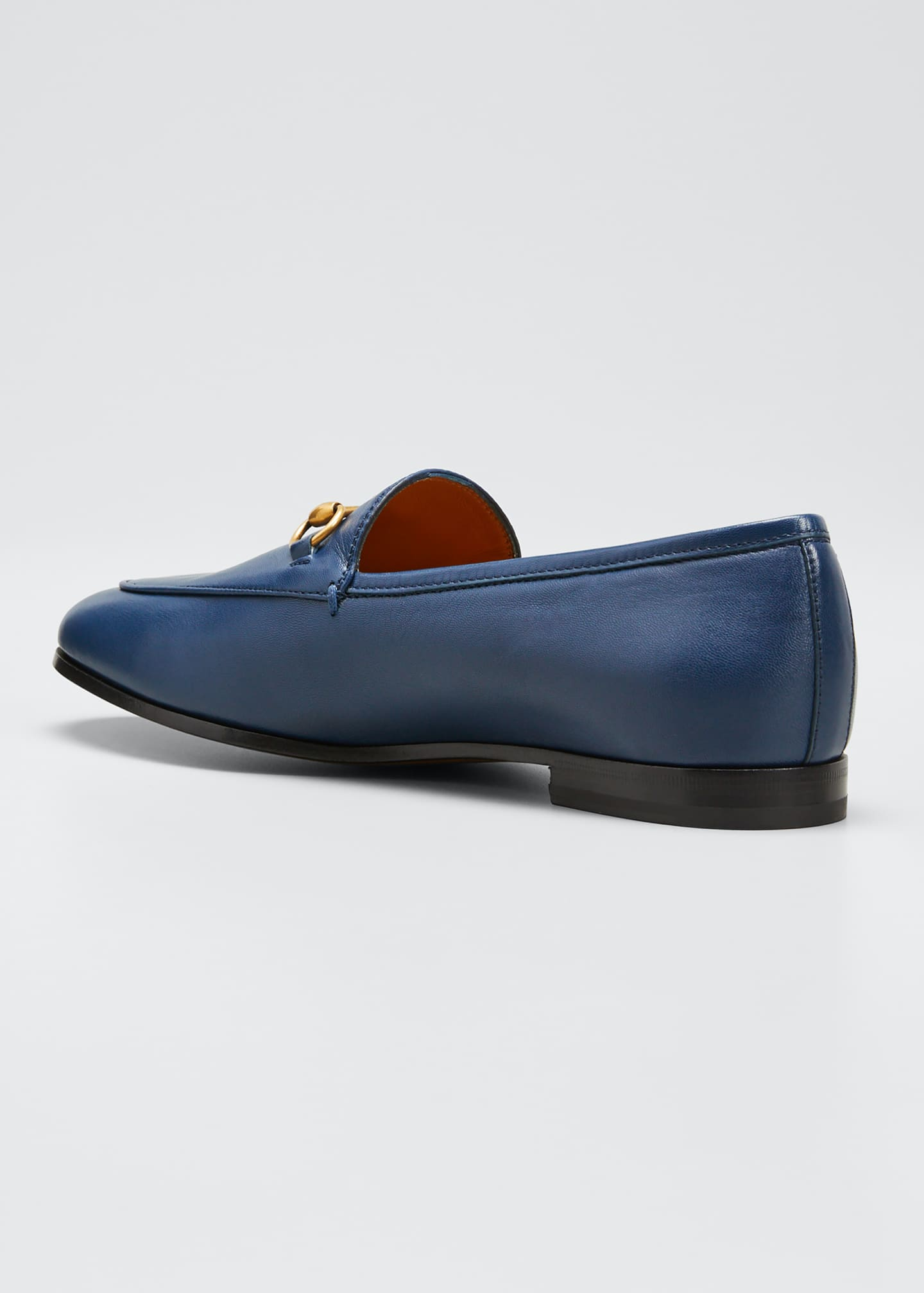 Image 2 of 3: Jordaan Flat Leather Loafers