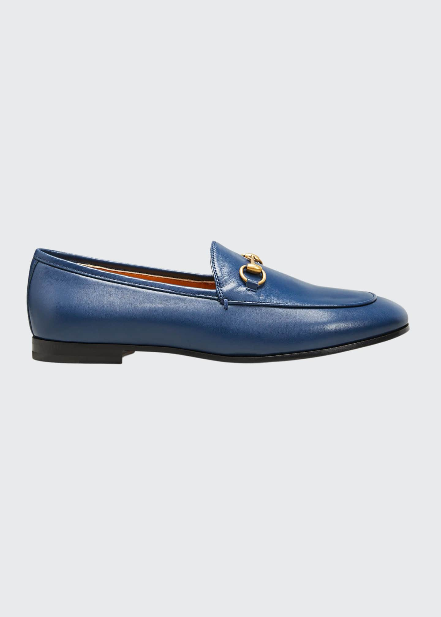 Image 1 of 3: Jordaan Flat Leather Loafers