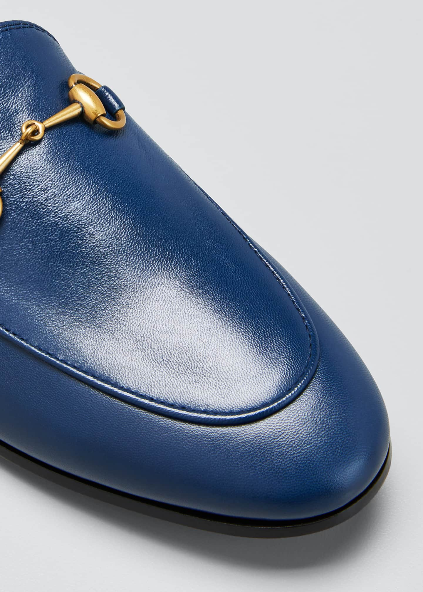 Image 3 of 3: Jordaan Flat Leather Loafers