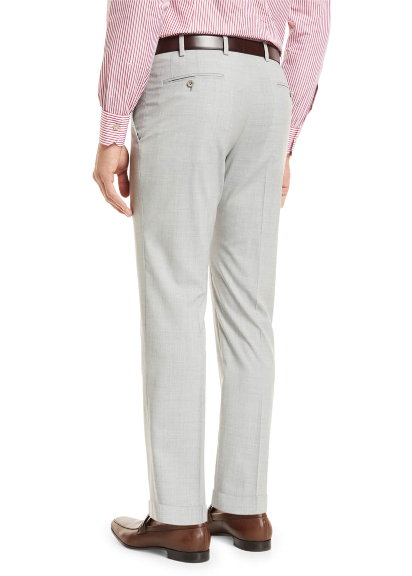 Image 3 of 4: Super 160s Wool Trousers