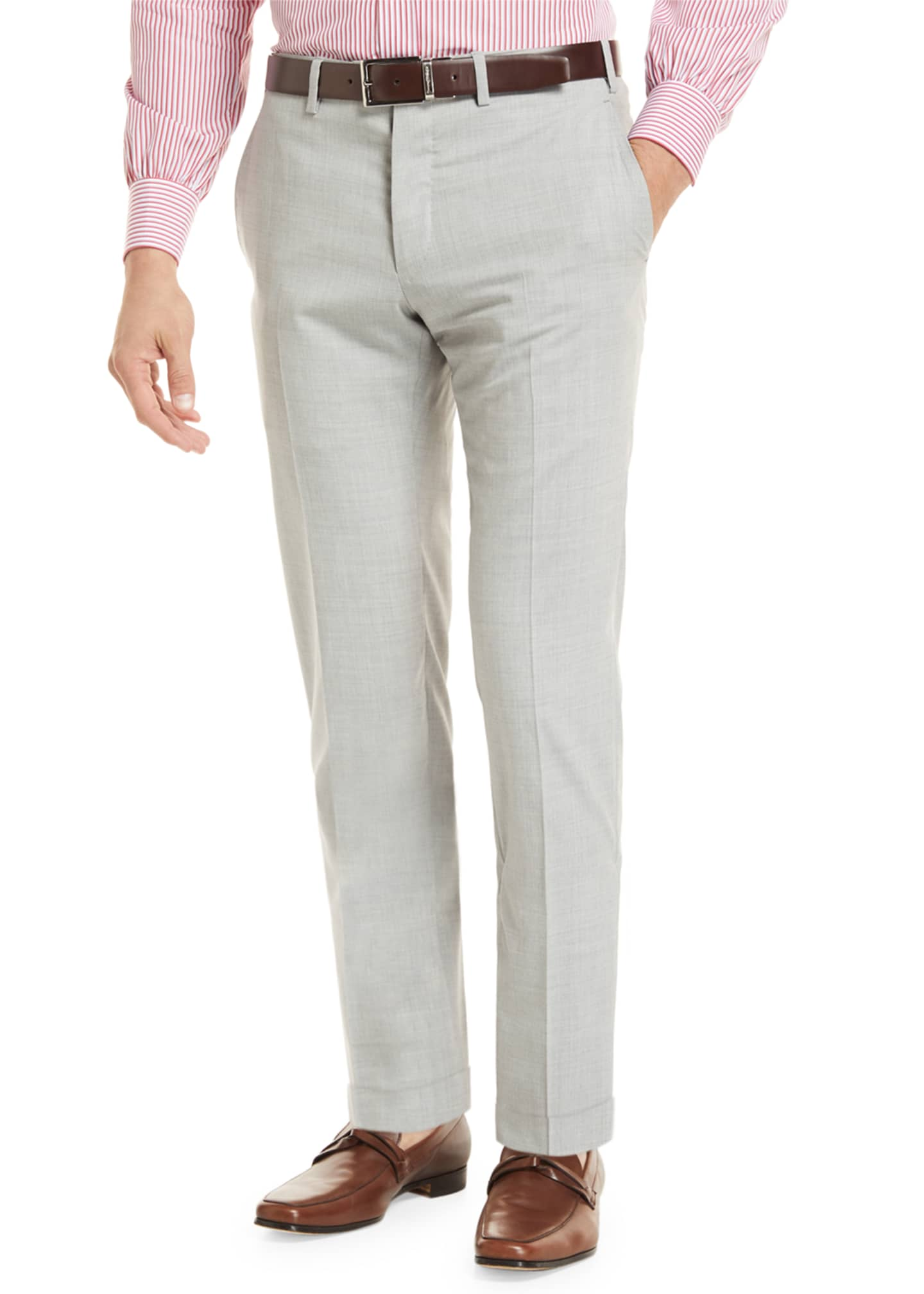Image 1 of 4: Super 160s Wool Trousers