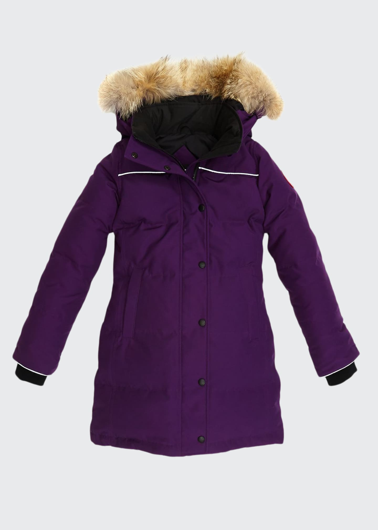 Image 1 of 4: Youth Juniper Parka w/ Removable Fur Trim, XS-L