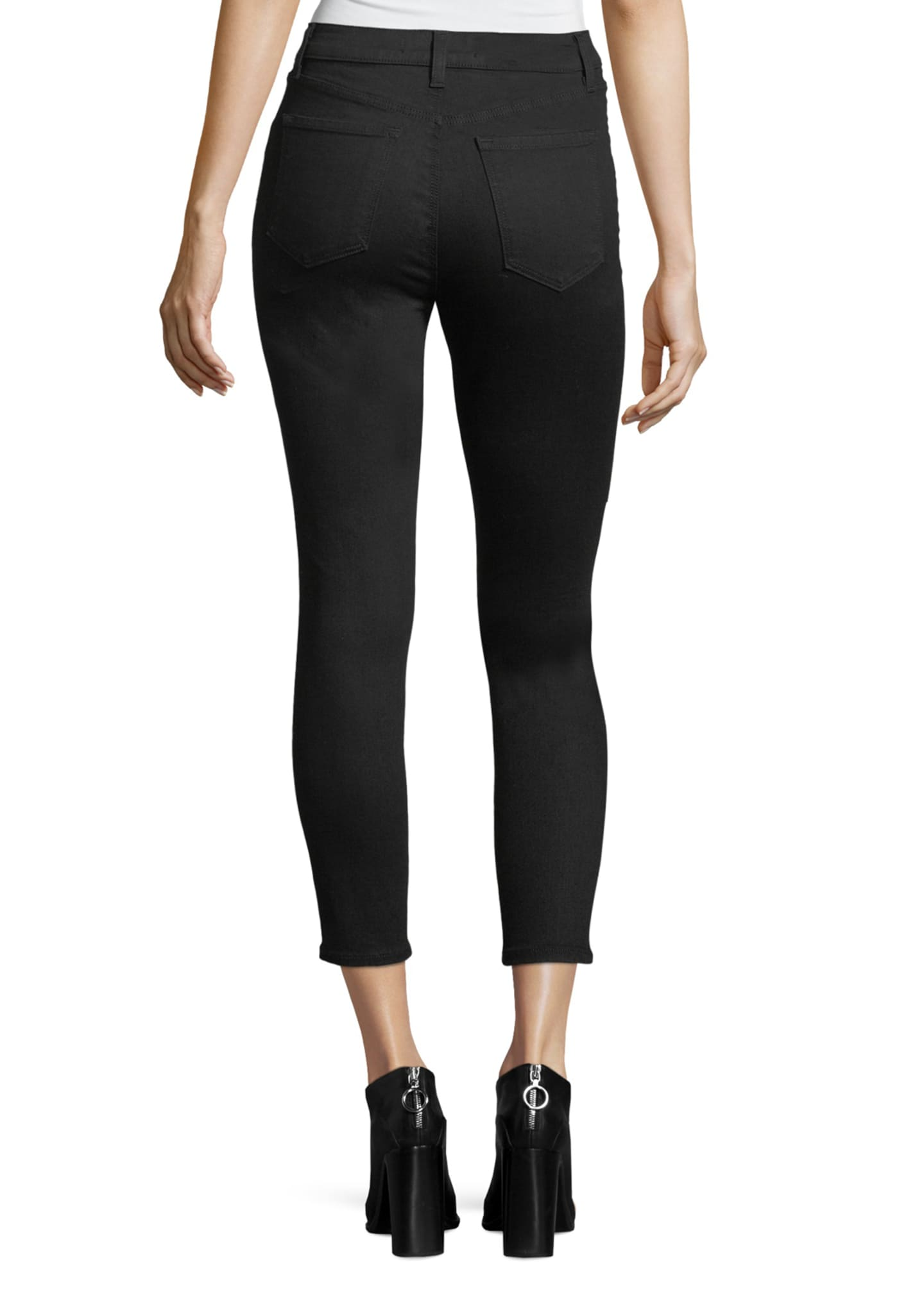 Image 2 of 3: Alana Photo-Ready High-Rise Super Skinny Crop Jeans