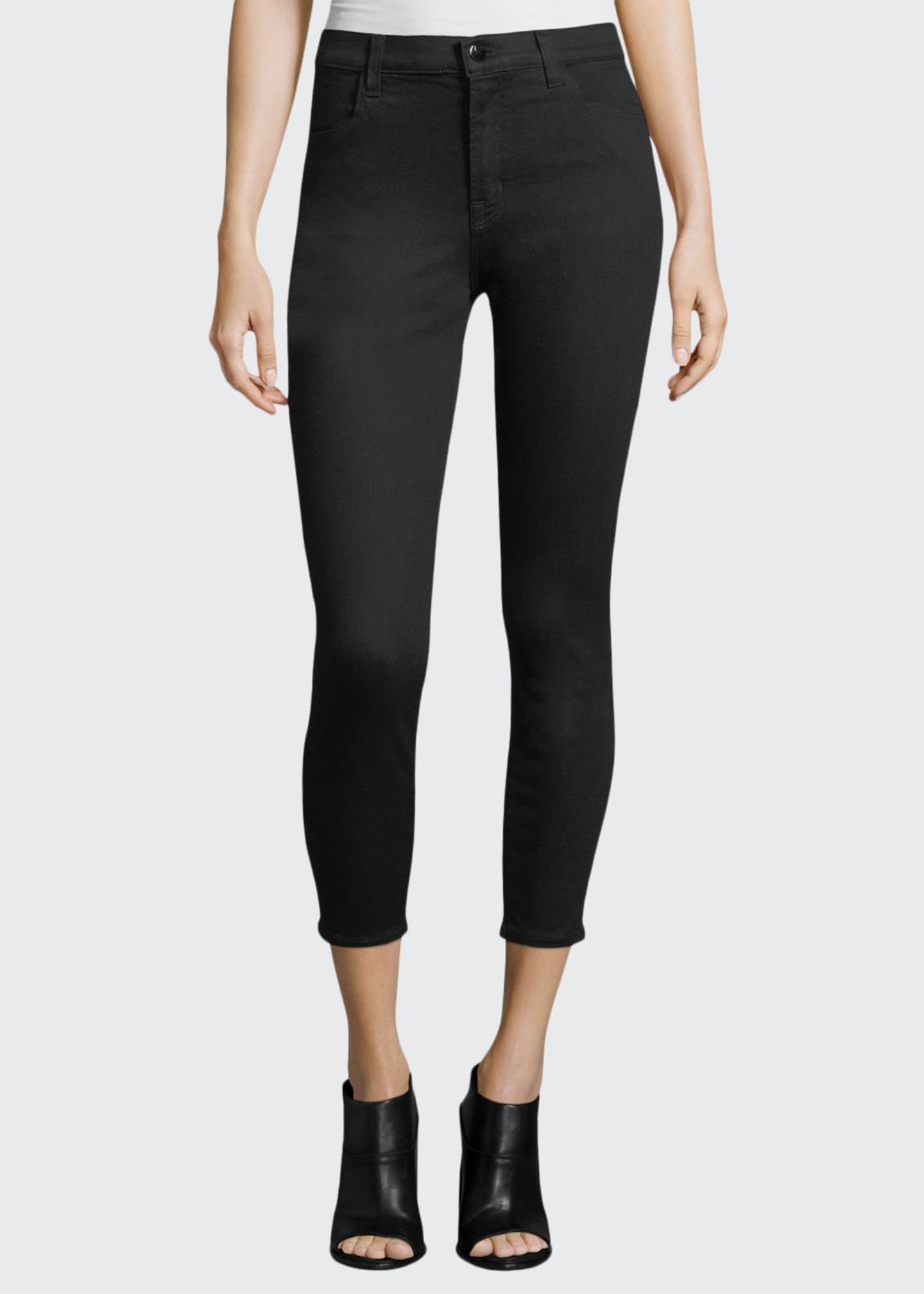 J Brand Alana Photo-Ready High-Rise Super Skinny Crop