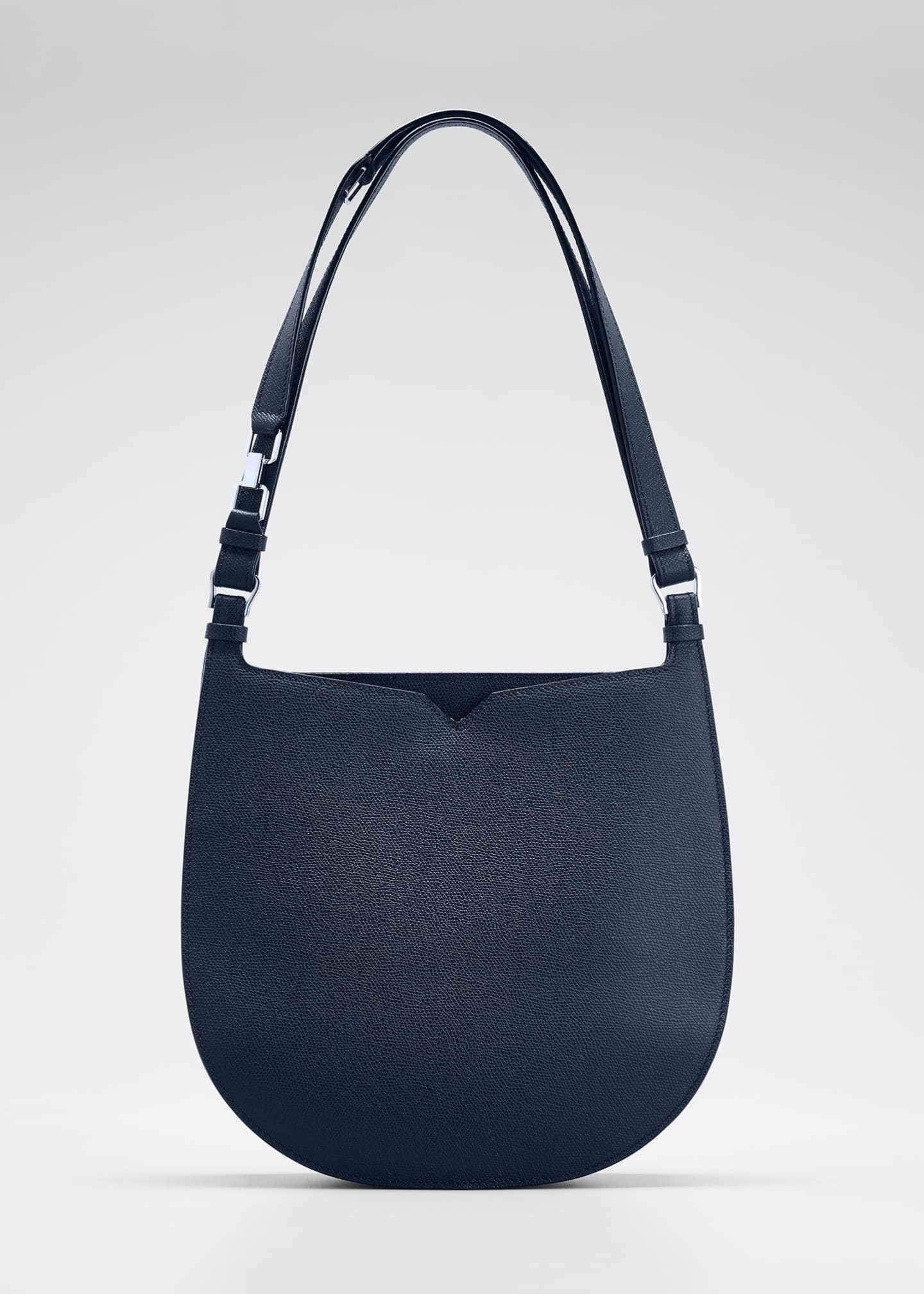 Image 1 of 5: Textured Small Hobo Bag