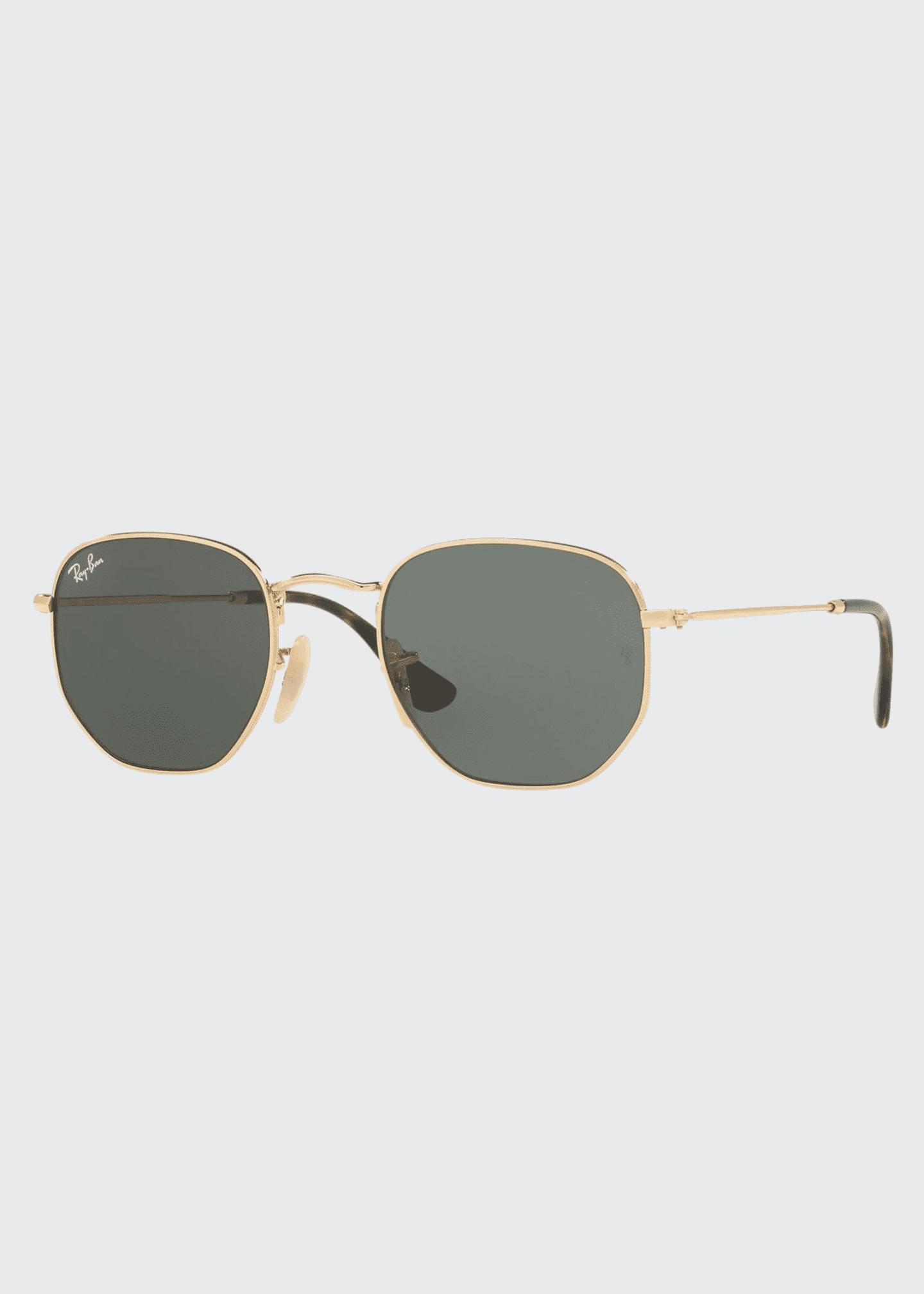 Ray-Ban Square Metal Keyhole Sunglasses