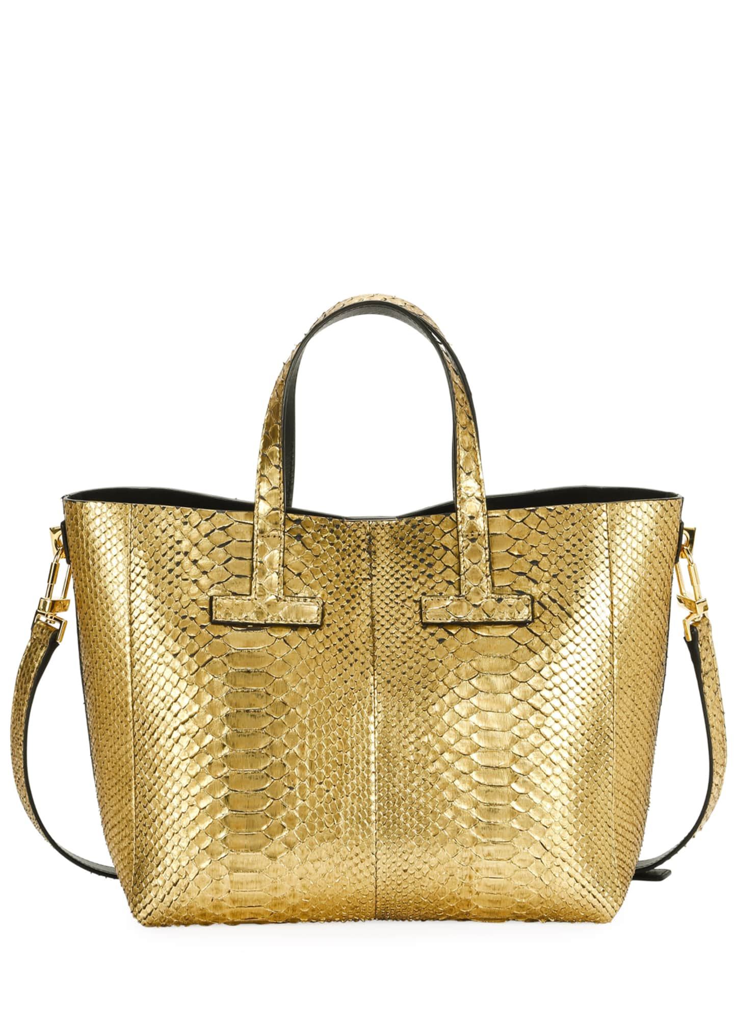 TOM FORD T Tote Cosmo Python Crossbody Mini