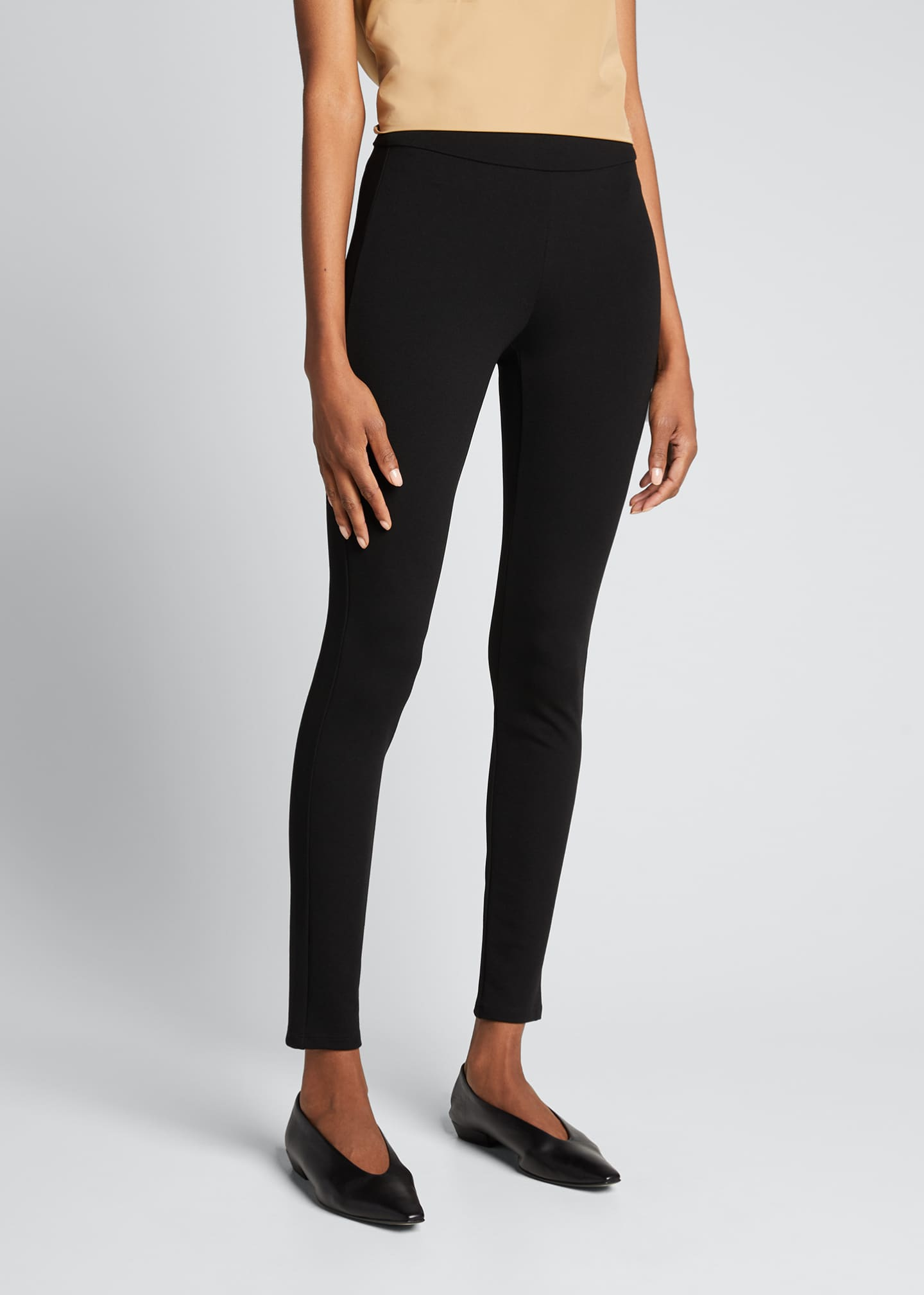 Image 3 of 3: Shawn Pull-On Stretch Leggings